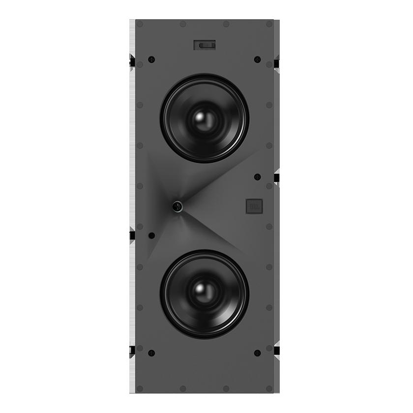 SCL-7 - Black - 2-Way Dual 5.25-inch (130mm) In-Wall Loudspeaker - Hero