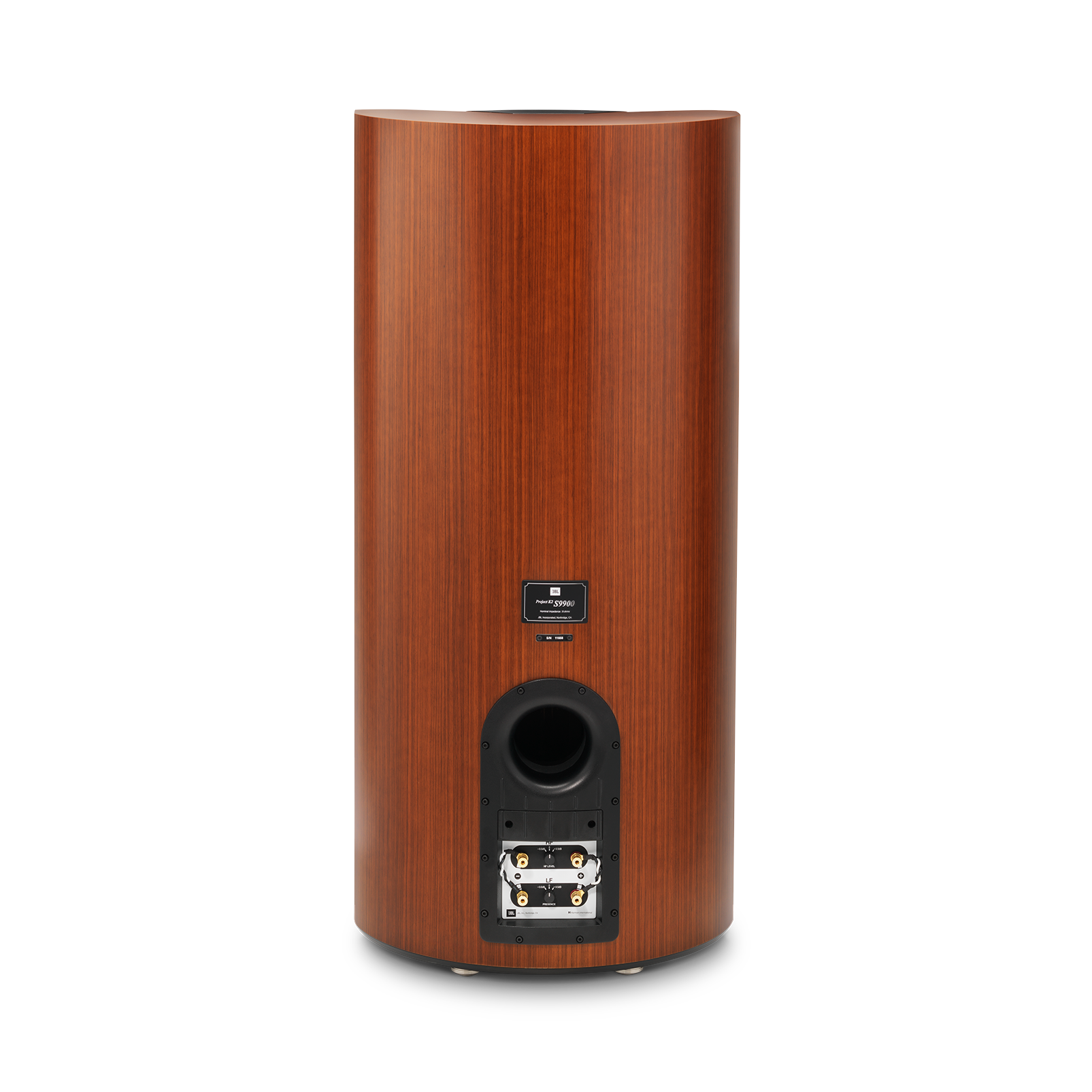 "K2 S9900 - Wood Grain - 3-way 15"" (380mm) Floorstanding Loudspeaker - Back"