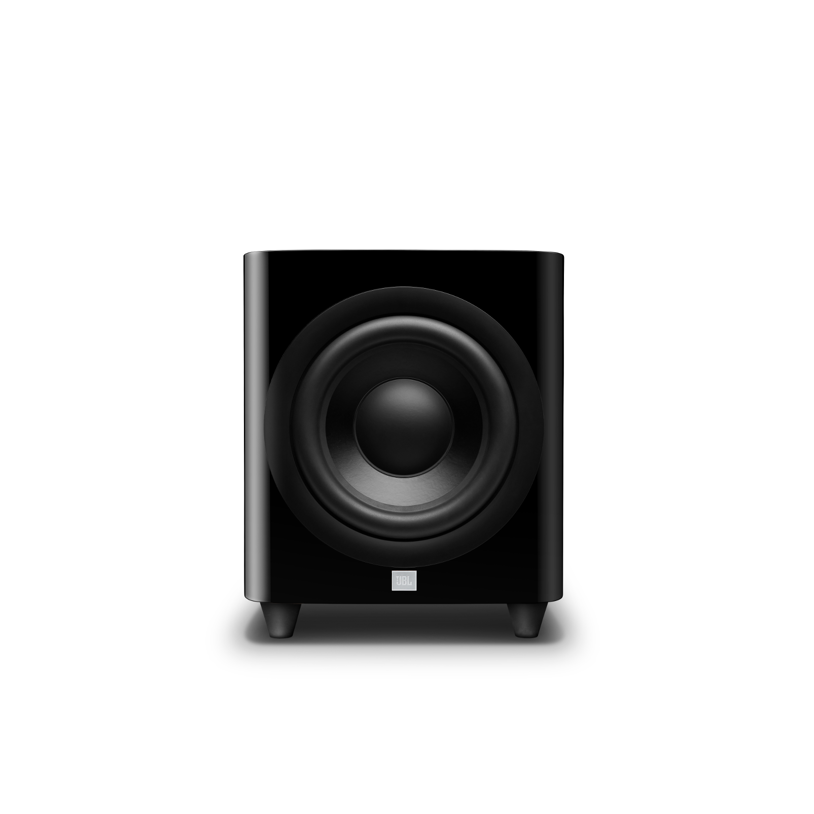 HDI-1200P - Black Gloss - 12-inch (300mm) 1,000W Powered Subwoofer - Hero