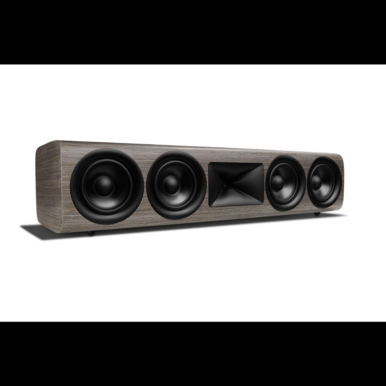 HDI-4500 - Grey Oak - 2 ½-way Quadruple 5.25-inch (130mm) Center Channel Loudspeaker - Left