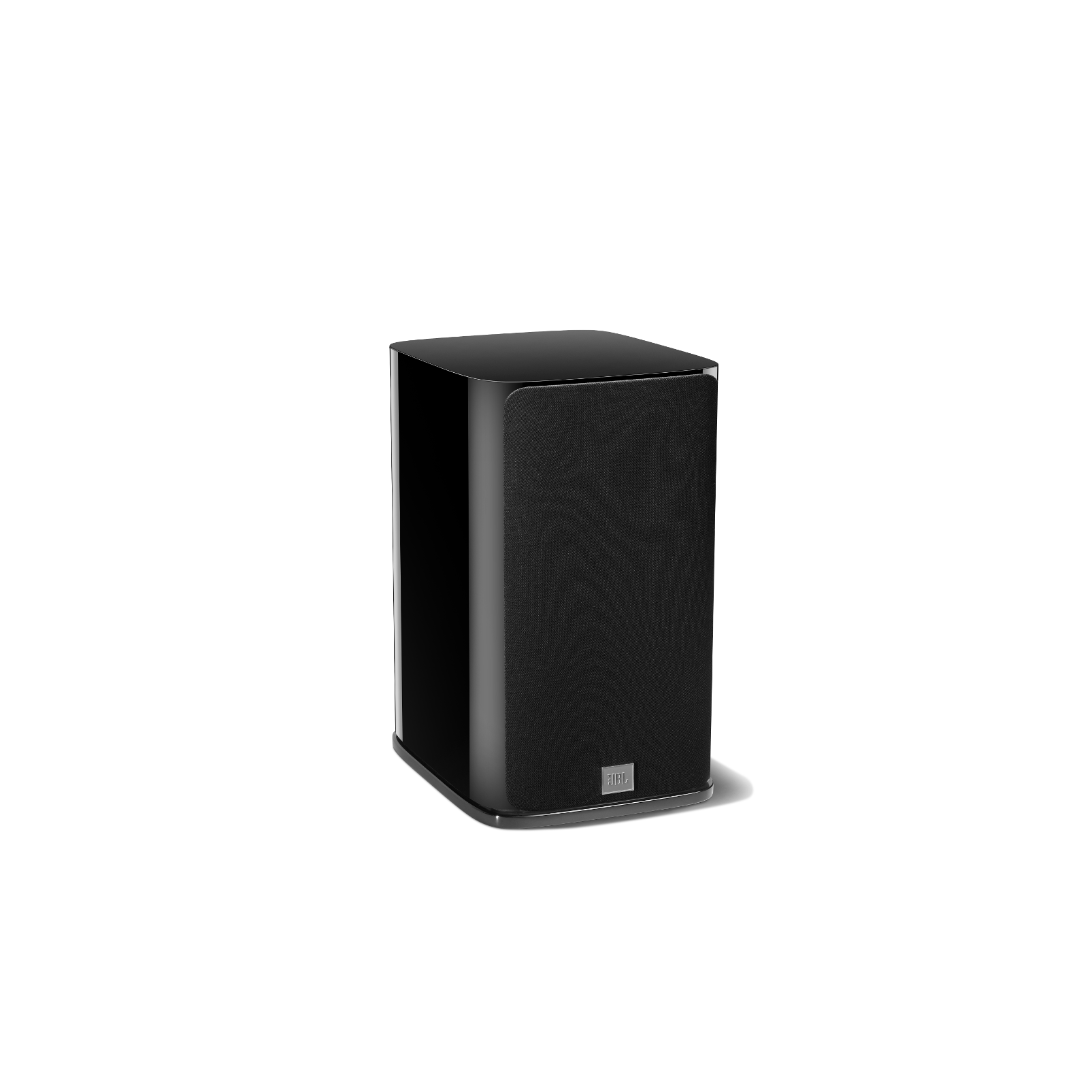 HDI-1600 - Black Gloss - 2-way 6.5-inch (165mm) Bookshelf Loudspeaker - Front