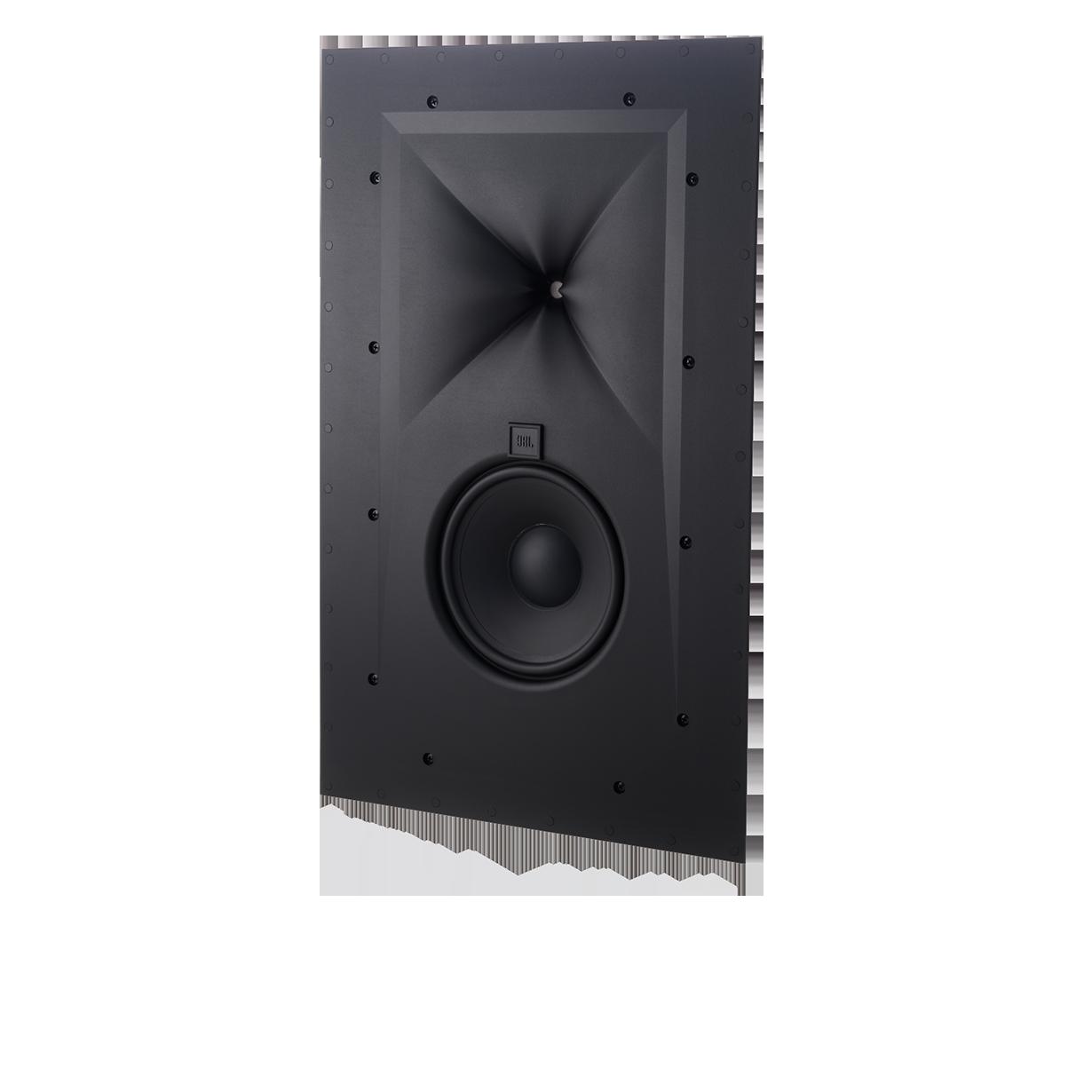 SCL-4 - Black Matte - Two-way 7-inch (180mm) In-Wall Loudspeaker - Hero