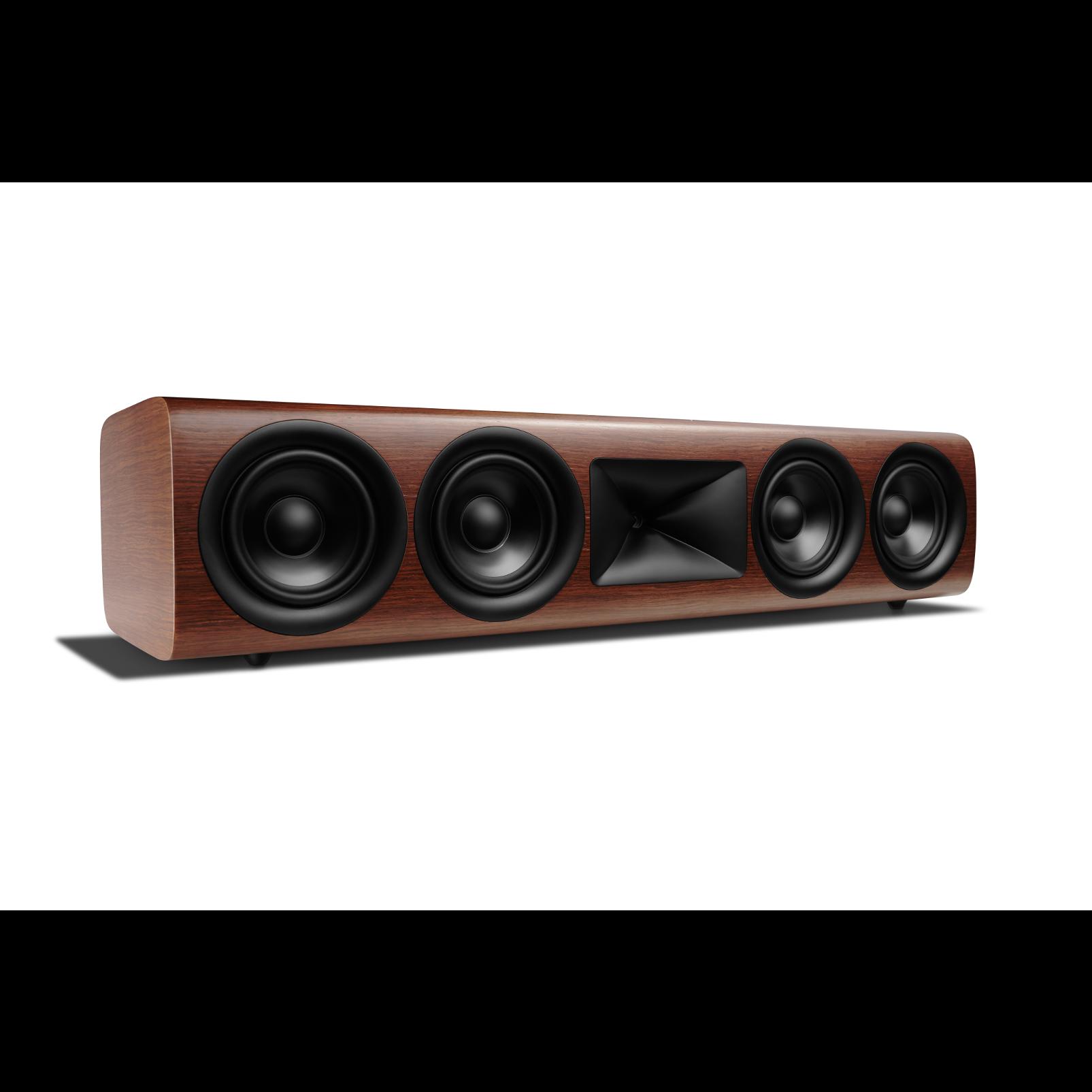 HDI-4500 - Walnut - 2 ½-way Quadruple 5.25-inch (130mm) Center Channel Loudspeaker - Left