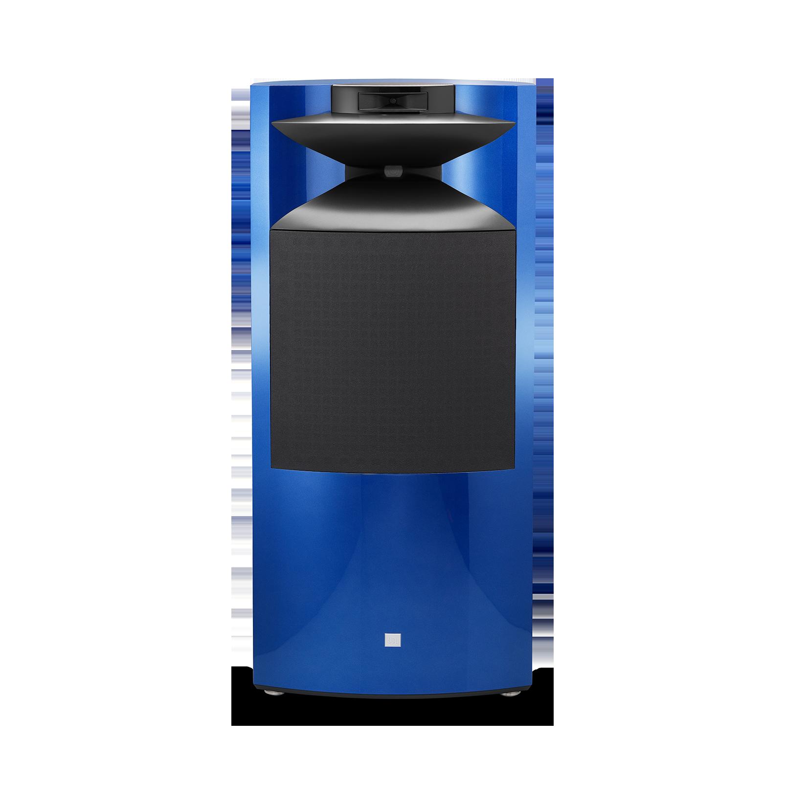 """K2 S9900 - Sapphire Blue Metallic - 3-way 15"""" (380mm) Floorstanding Loudspeaker - Front"""