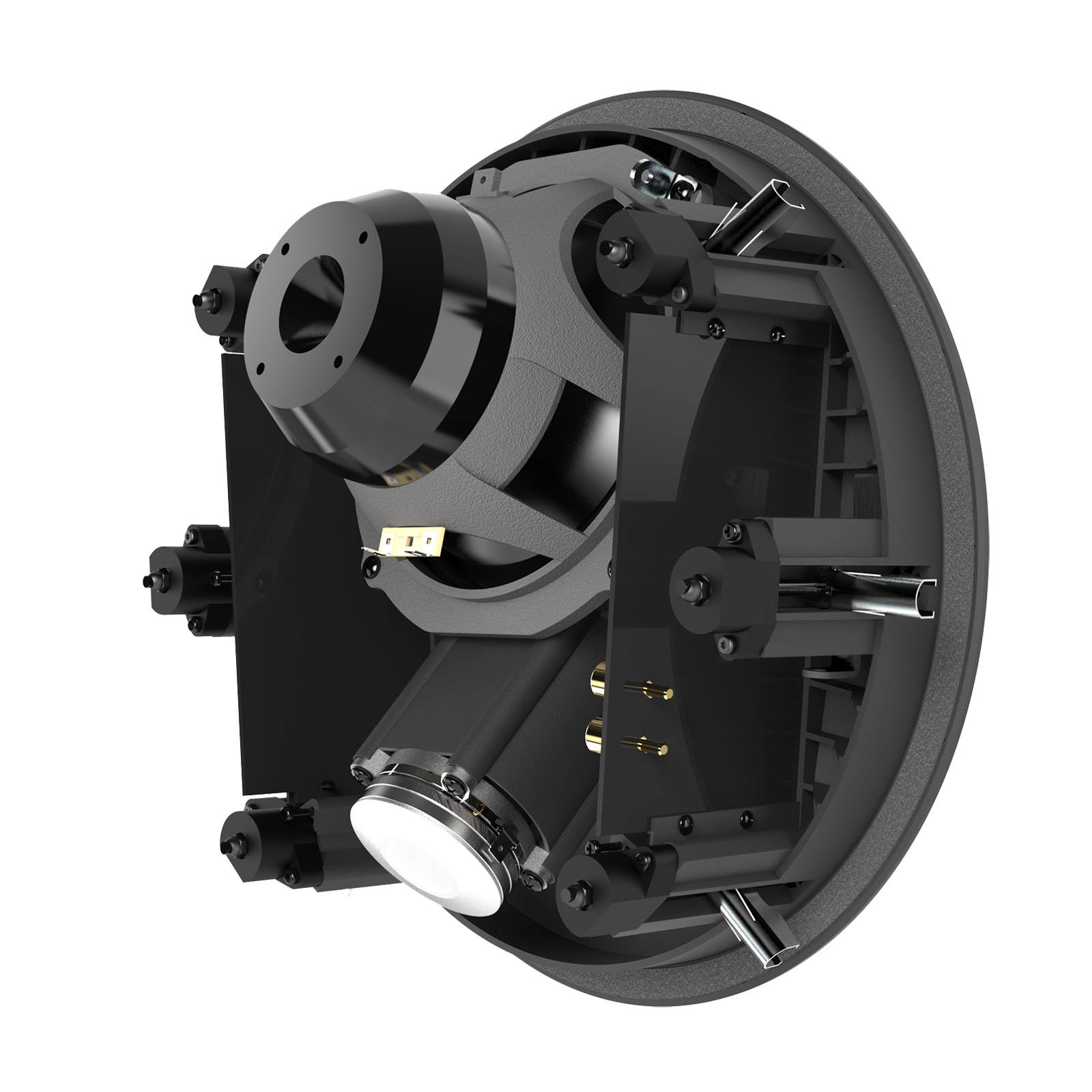 SCL-5 - Black - 2-Way 7-inch (180mm) In-Ceiling Loudspeaker - Back