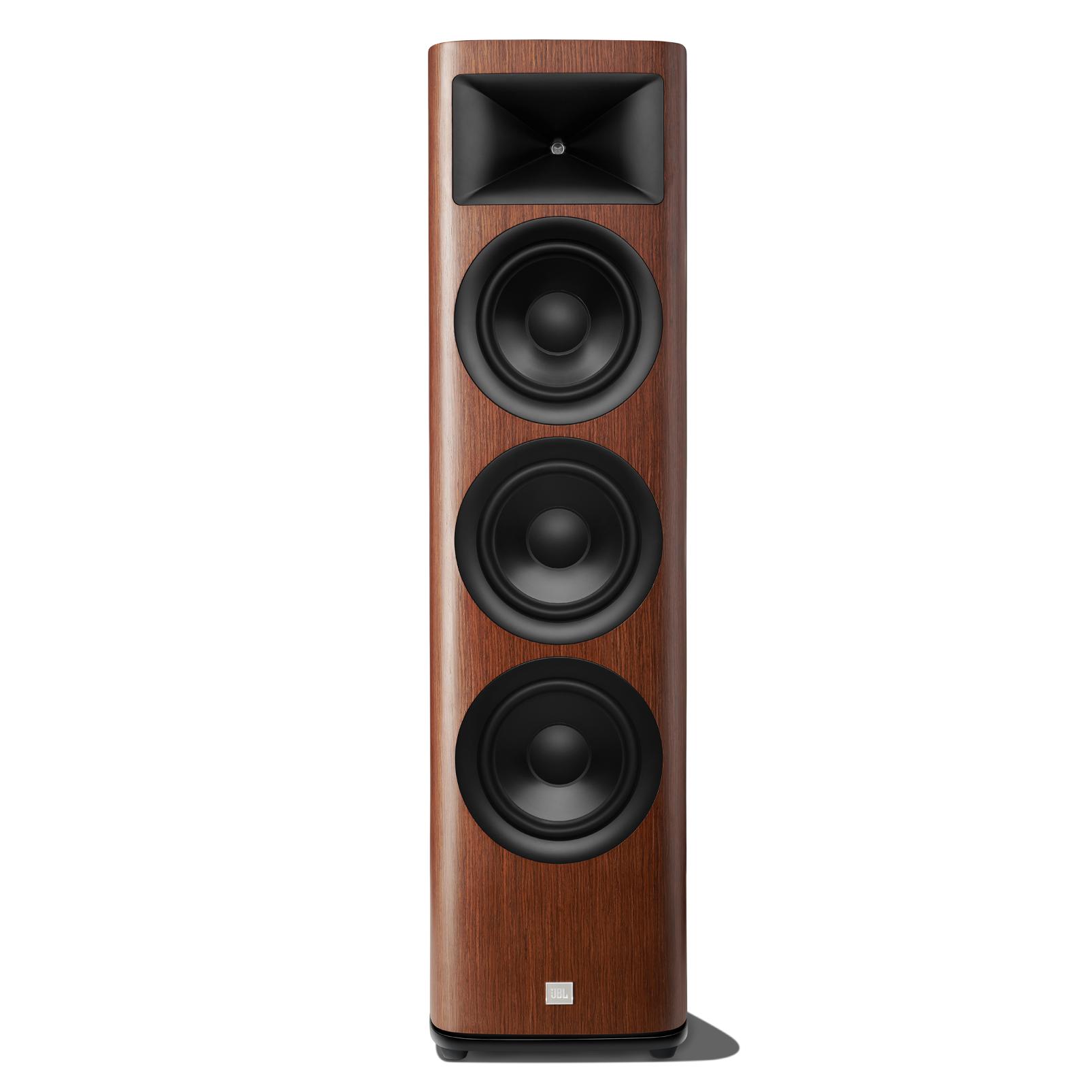 HDI-3800 - Walnut - 2 ½-way Triple 8-inch (200mm) Floorstanding Loudspeaker - Hero