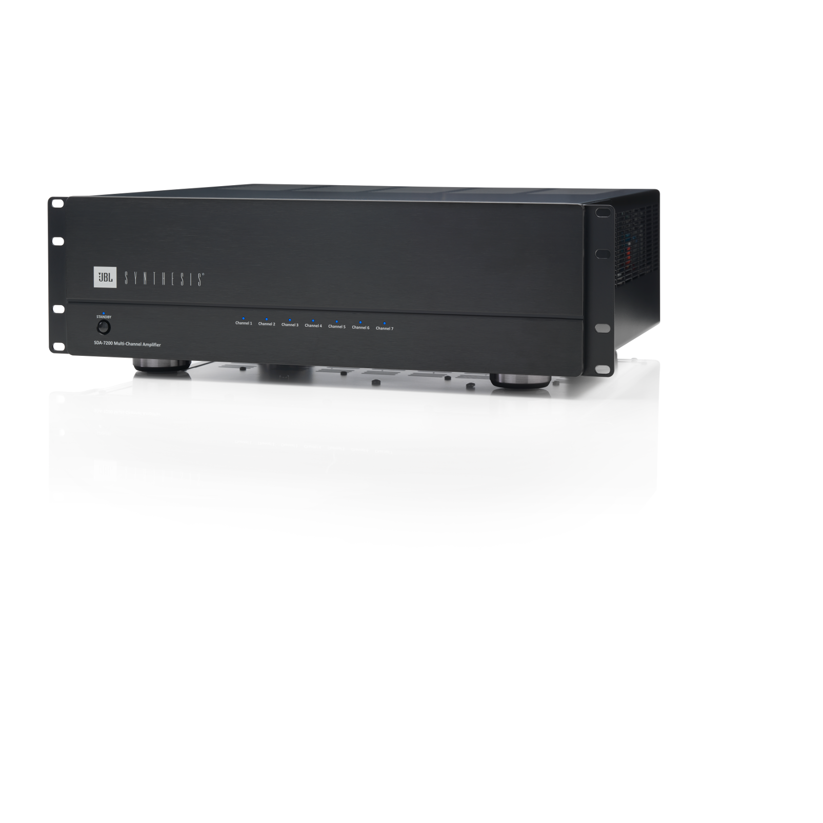 SDA 7200 - Black Lacquer - Multichannel Power Amplifier - Hero