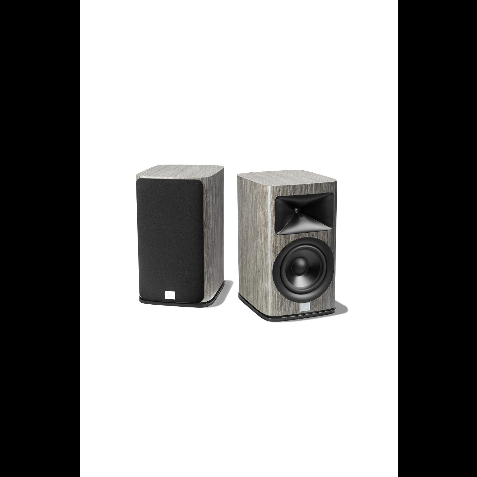 HDI-1600 - Grey Oak - 2-way 6.5-inch (165mm) Bookshelf Loudspeaker - Detailshot 3