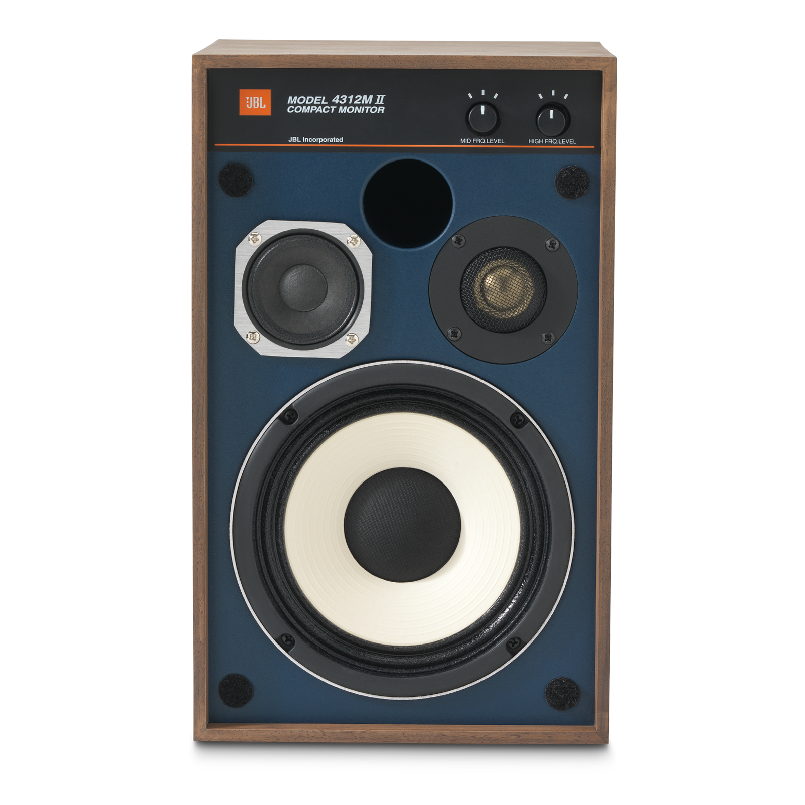 "4312MII - Brown - 5.25"" 3-way Studio Monitor Loudspeaker - Front"