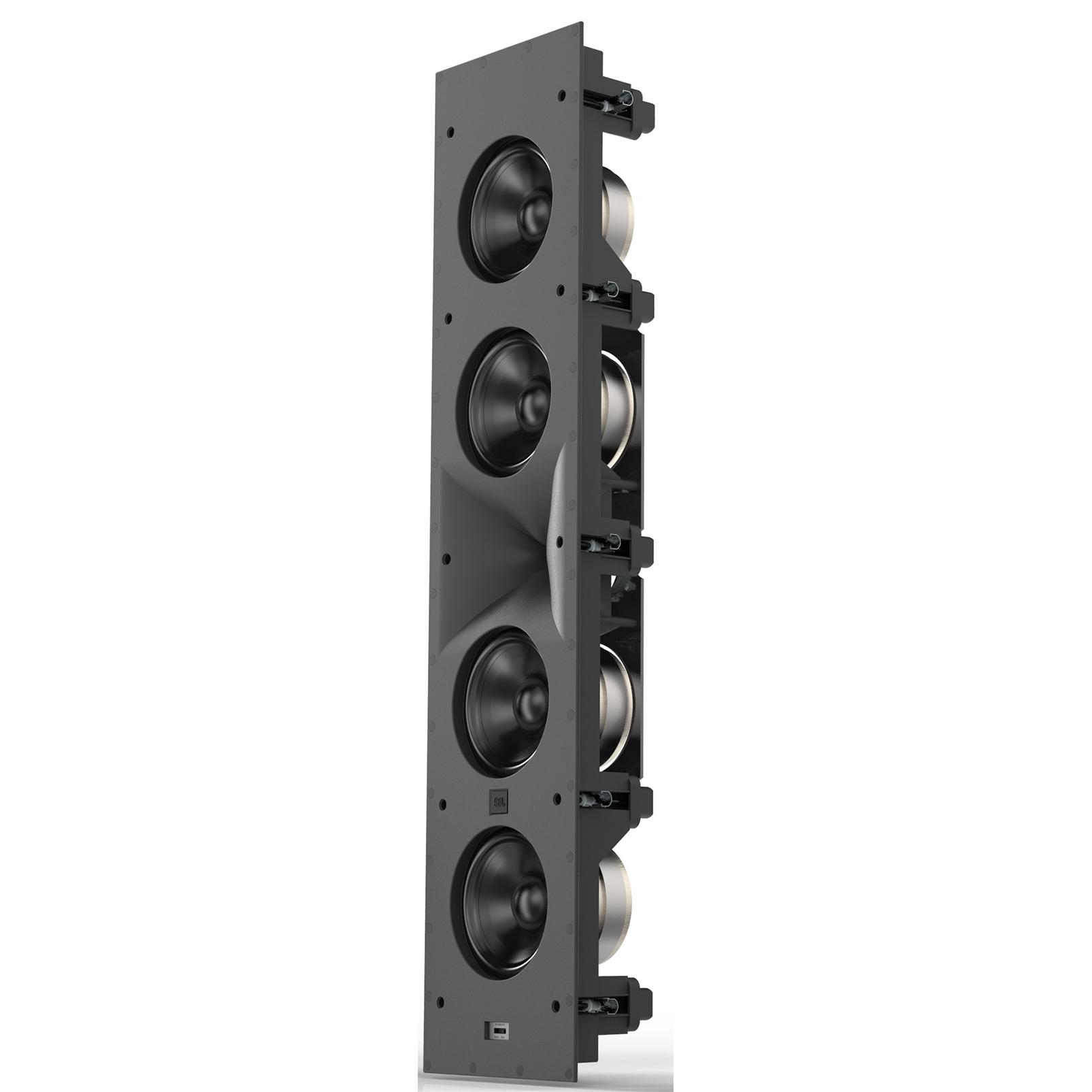 SCL-6 - Black - 2.5-Way Quadruple 5.25-inch (130mm) In-Wall Loudspeaker - Hero