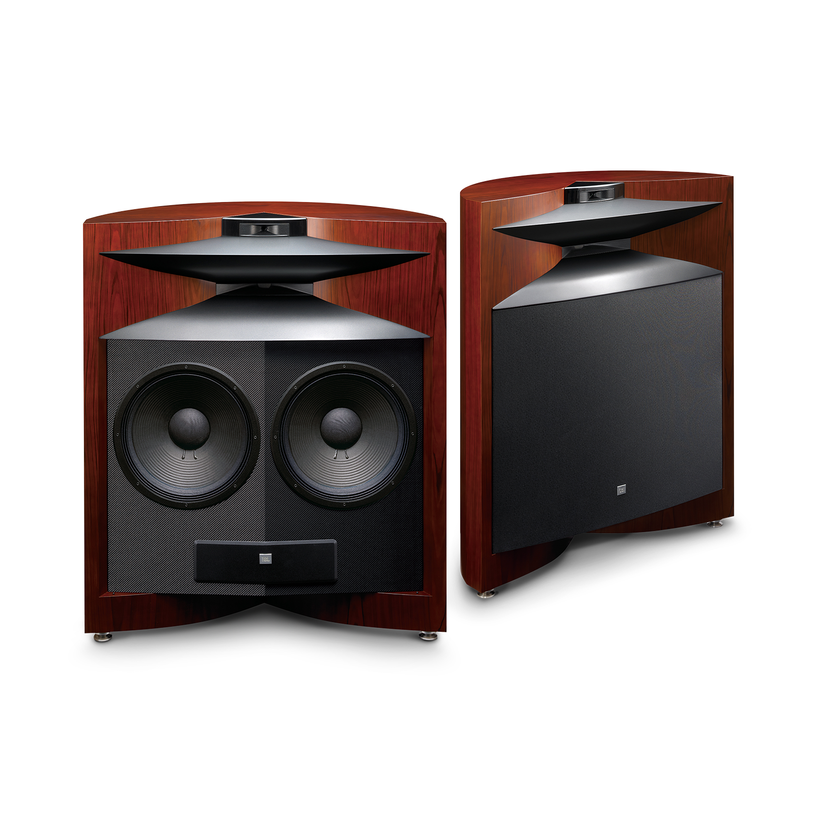 Project EVEREST DD67000 - Cherry - Dual 15″ (380mm), three-way, floorstanding speaker designed for a superlative listening experience - Hero