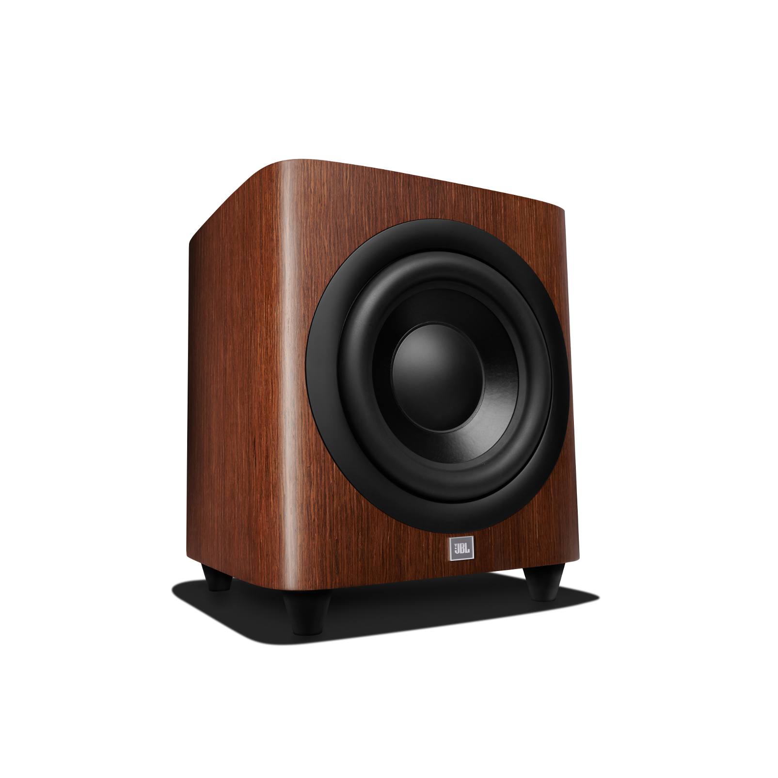 HDI-1200P - Walnut - 12-inch (300mm) 1000W Powered Subwoofer - Left