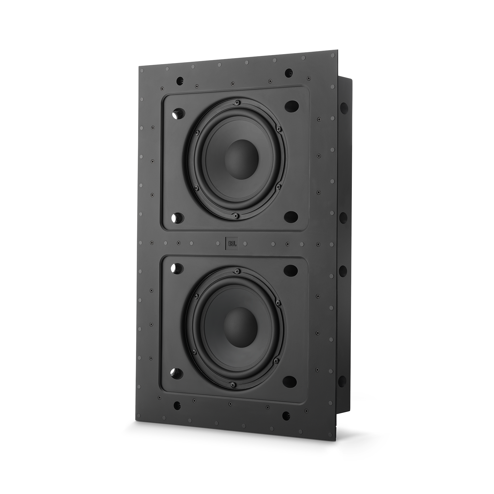 "SSW-4 - Black Matte - Dual 8"" (200mm) In-wall Passive Subwoofer - Hero"