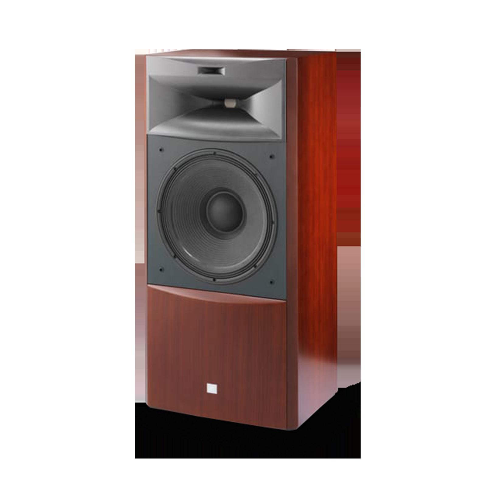 "JBL S4700 - Cherry - 3-way 15"" (380mm) Floorstanding Loudspeaker - Detailshot 1"