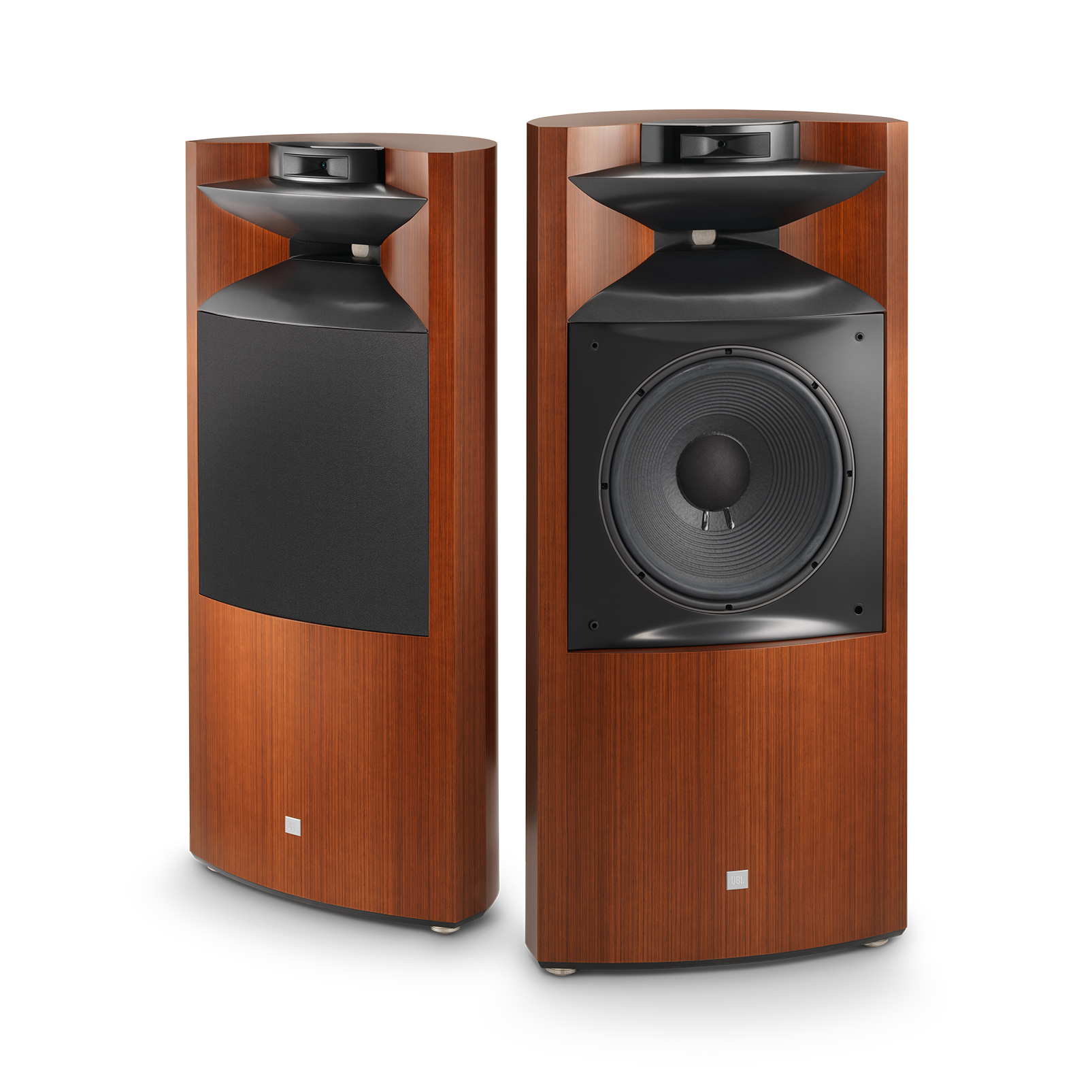 "K2 S9900 - Wood Grain - 3-way 15"" (380mm) Floorstanding Loudspeaker - Hero"