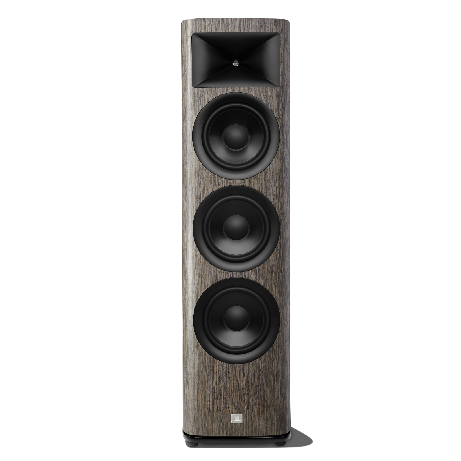 HDI-3800 - Grey Oak - 2 ½-way Triple 8-inch (200mm) Floorstanding Loudspeaker - Hero