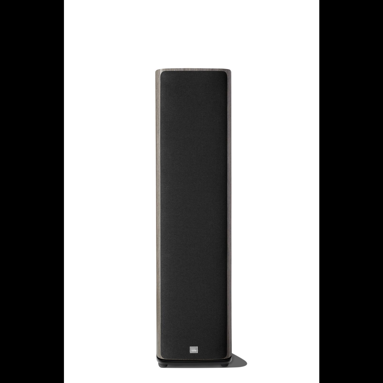 HDI-3800 - Grey Oak - 2 ½-way Triple 8-inch (200mm) Floorstanding Loudspeaker - Front
