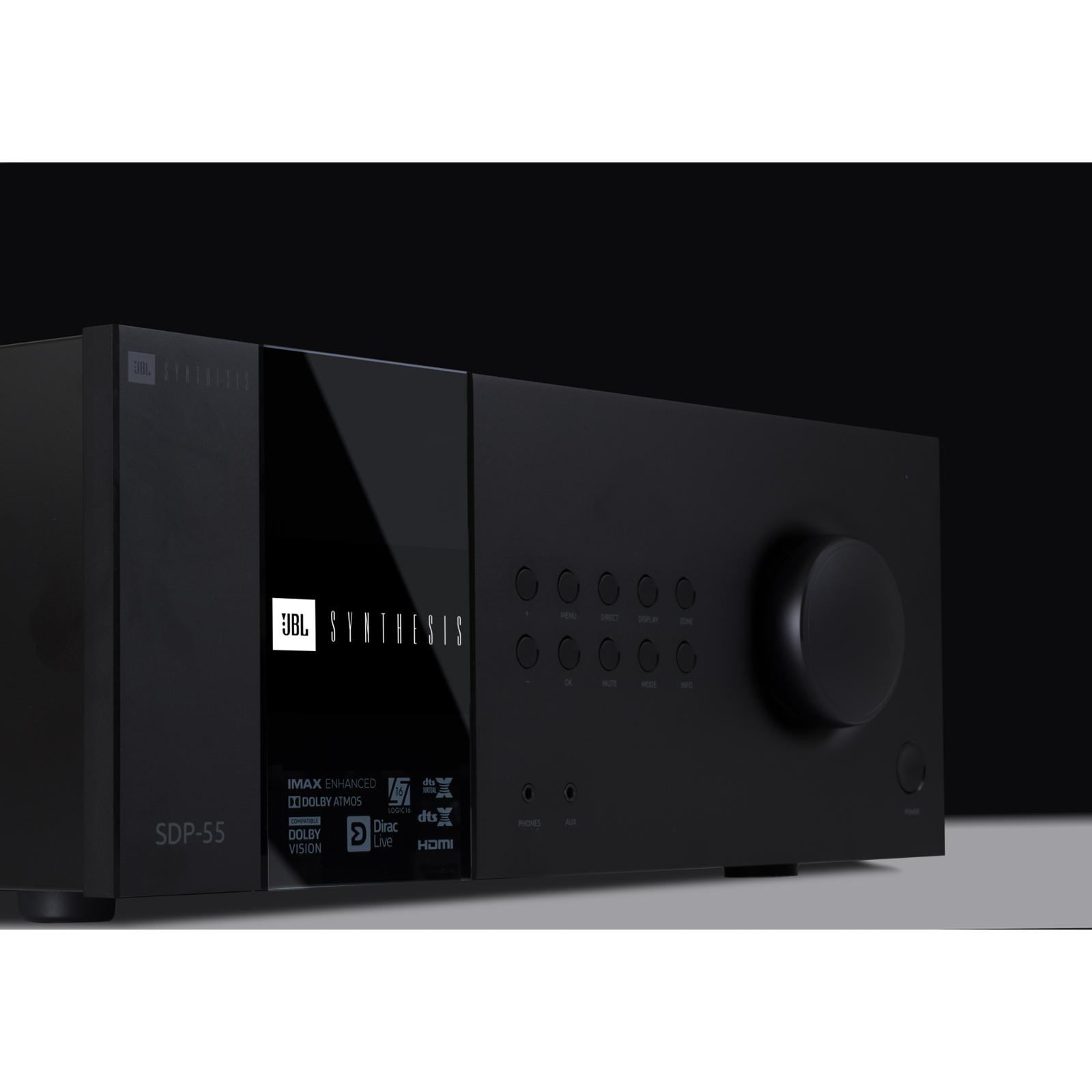 SDP-55 - Black - 16 Ch. Immersive Surround Sound Processor with Dante - Detailshot 2