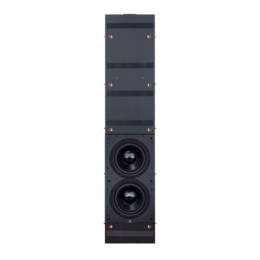 """S4S - Black Lacquer - Dual 10"""" (250mm) Flush-mount Passive Subwoofer - Hero"""