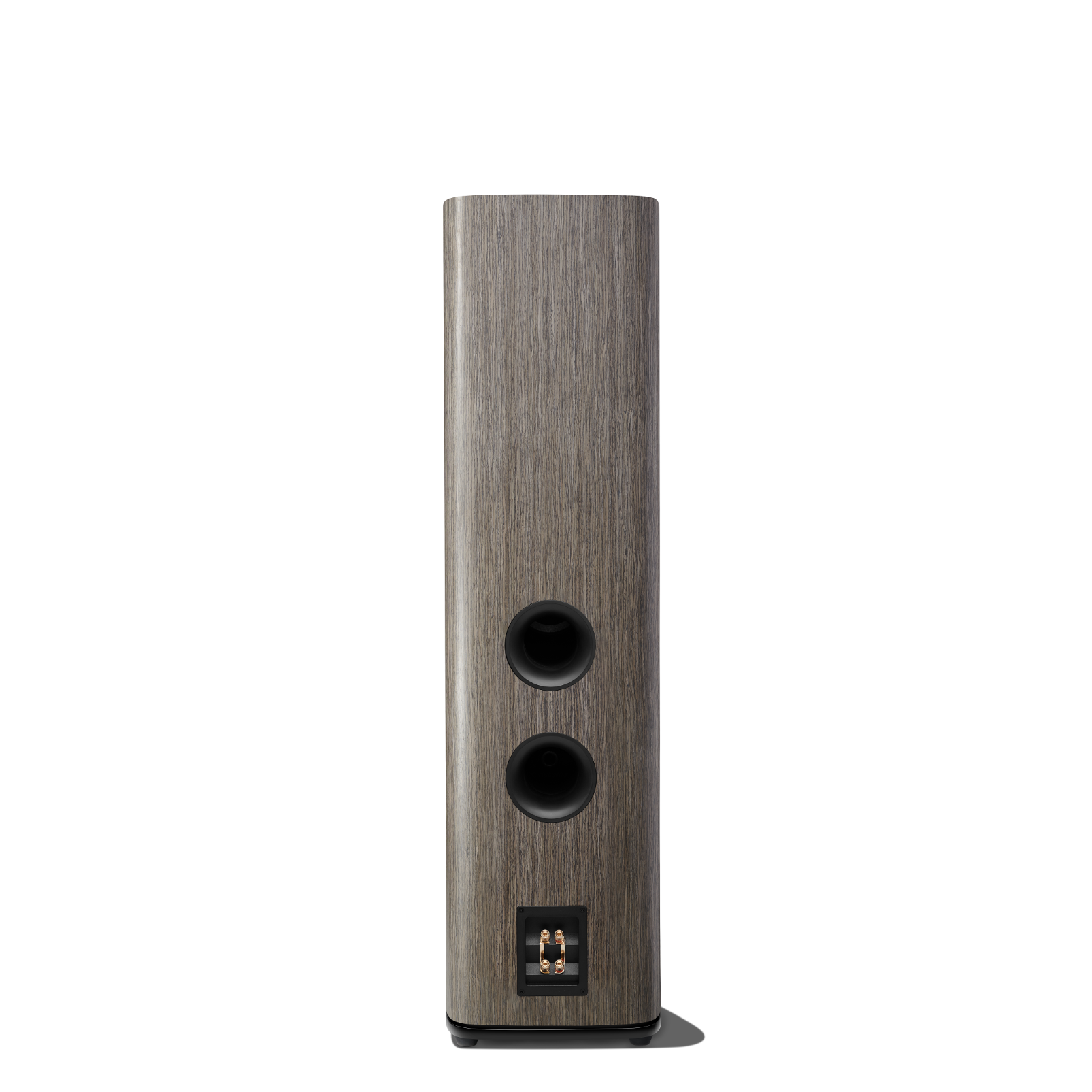 HDI-3800 - Grey Oak - 2 ½-way Triple 8-inch (200mm) Floorstanding Loudspeaker - Back