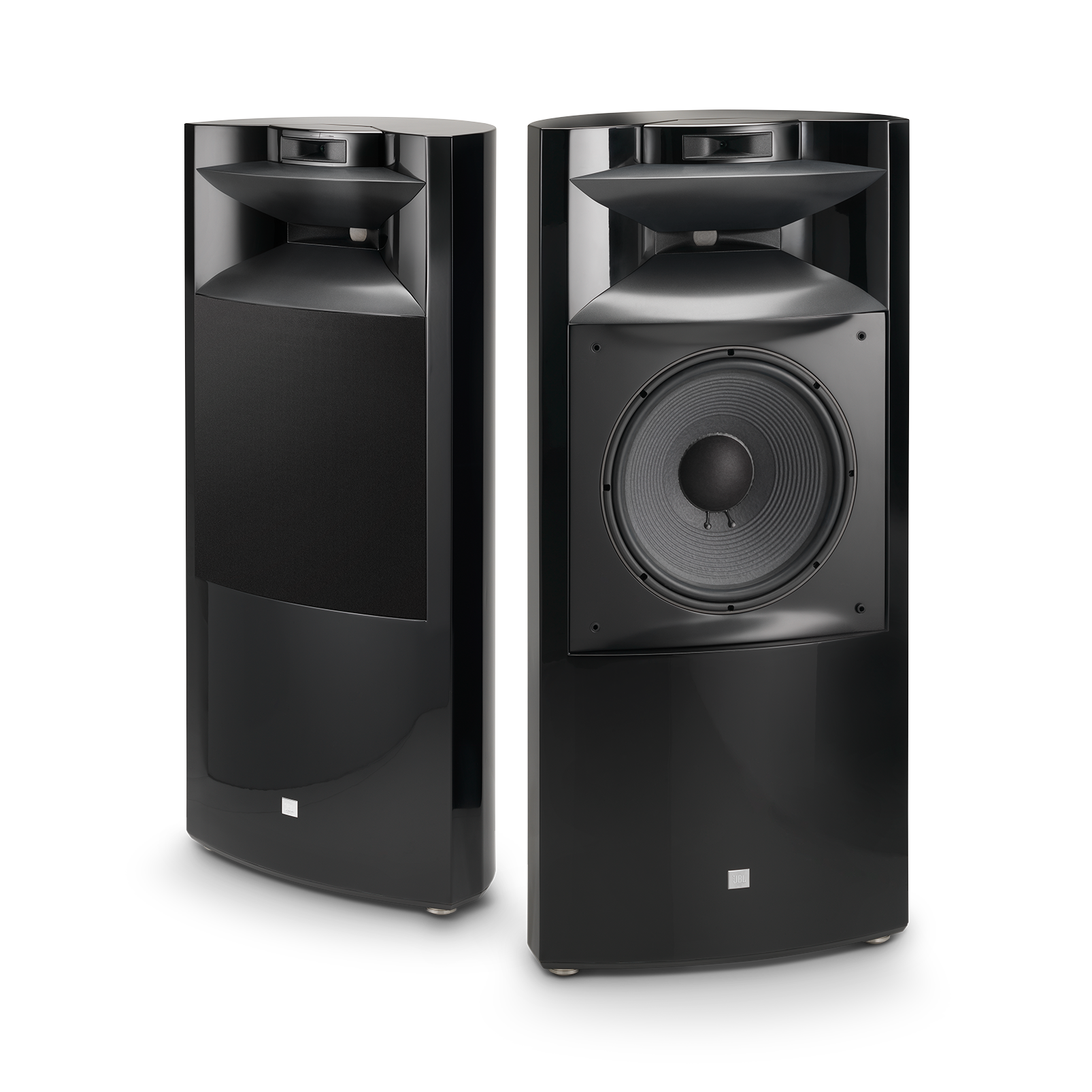 "K2 S9900 - Black Gloss - 3-way 15"" (380mm) Floorstanding Loudspeaker - Hero"