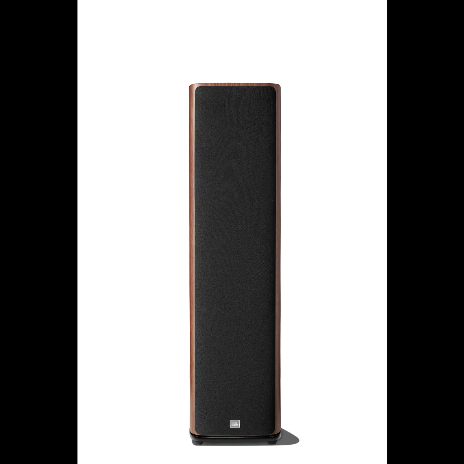 HDI-3800 - Walnut - 2 ½-way Triple 8-inch (200mm) Floorstanding Loudspeaker - Front