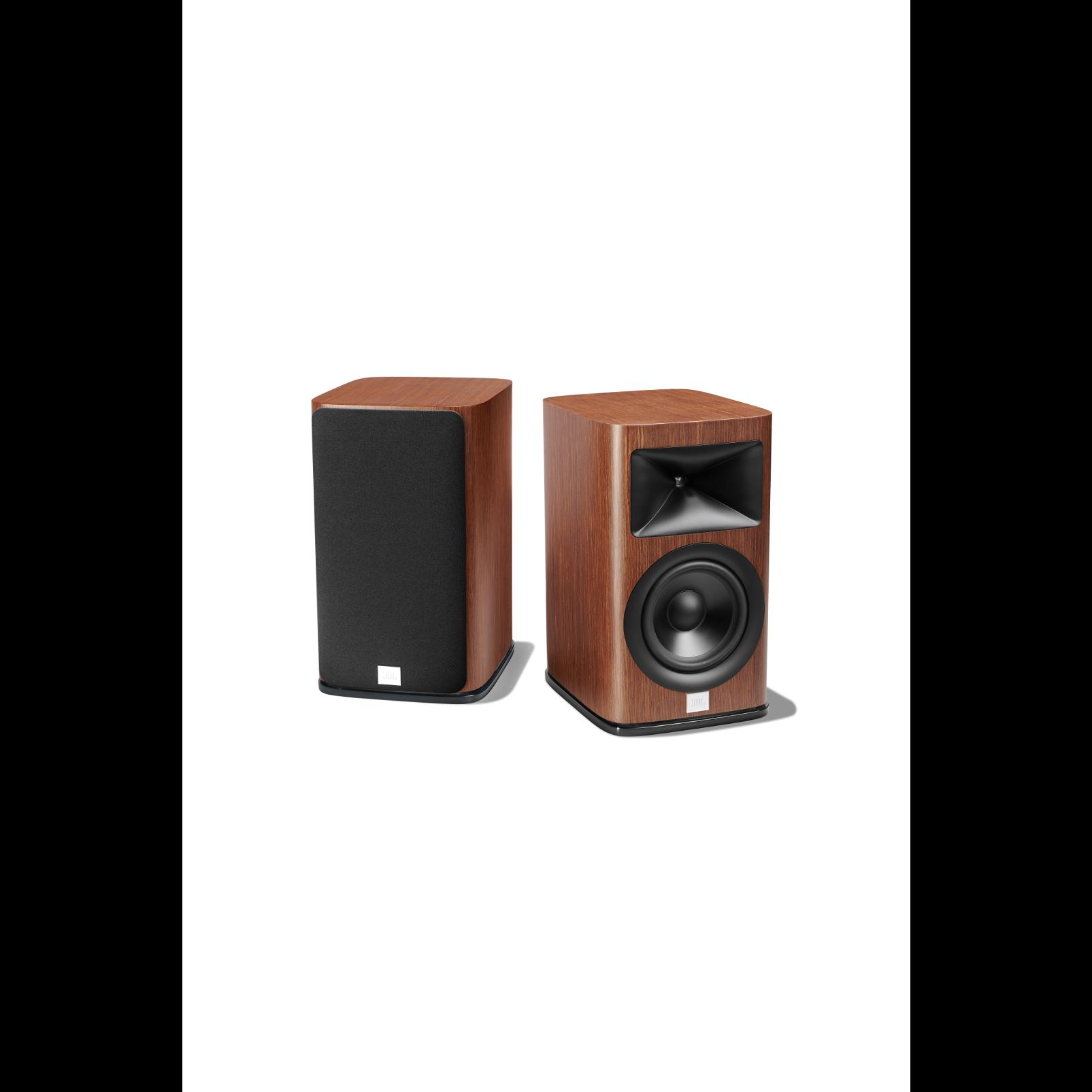HDI-1600 - Walnut - 2-way 6.5-inch (165mm) Bookshelf Loudspeaker - Detailshot 1