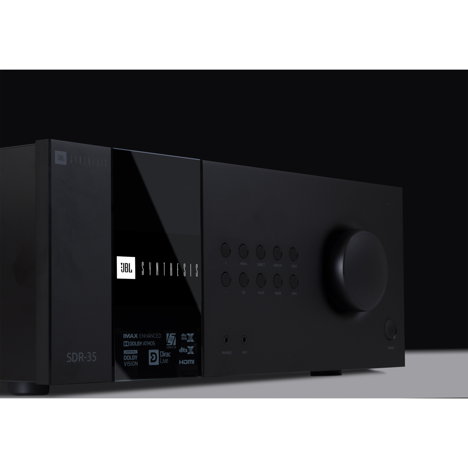 SDR-35 - Black - Class G Immersive Surround Sound AVR w/16 channels of processing - Detailshot 1
