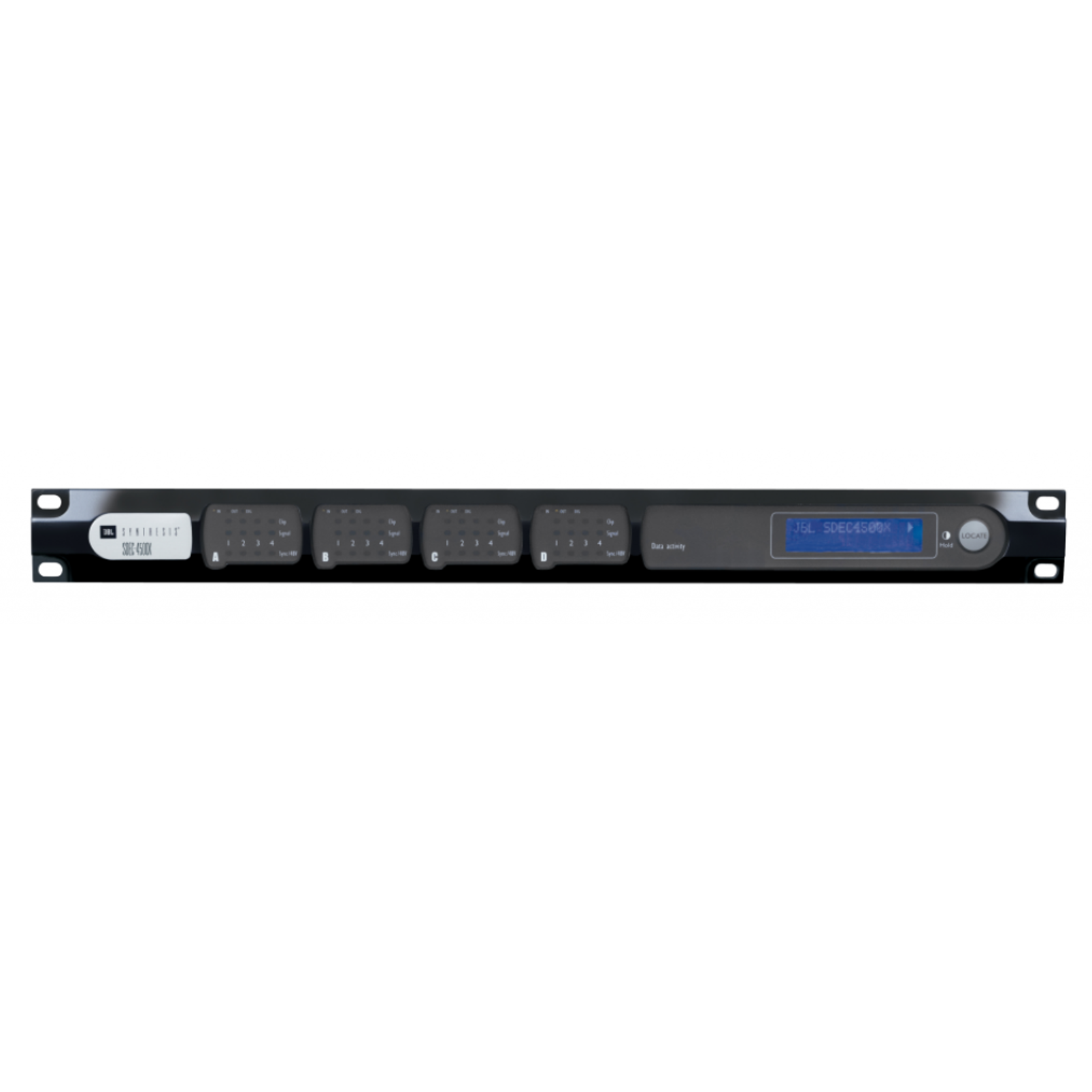 SDEC-4500X - Black Lacquer - 16-channel Fully-balanced Channel Expansion - Hero