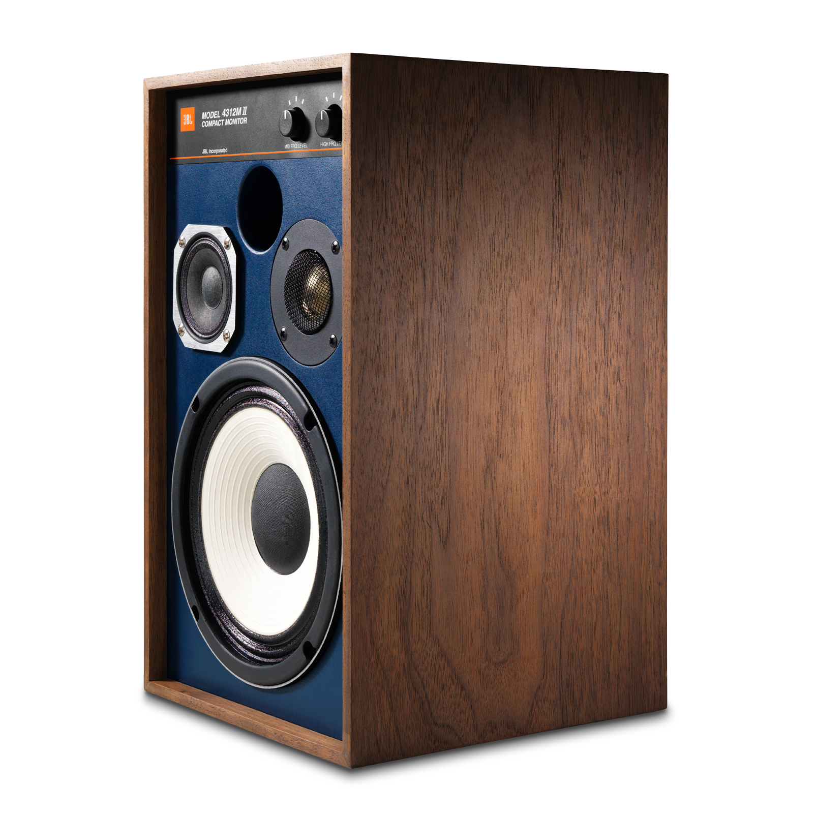 "4312MII - Brown - 5.25"" 3-way Studio Monitor Loudspeaker - Detailshot 3"