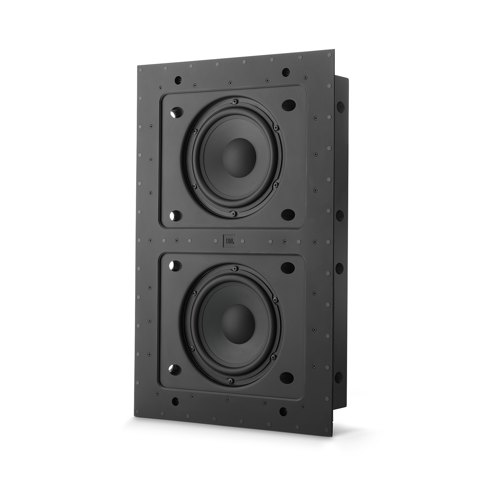 "SSW-4 - Black Matte - Dual 8"" (200mm) In-wall Passive Subwoofer - Front"
