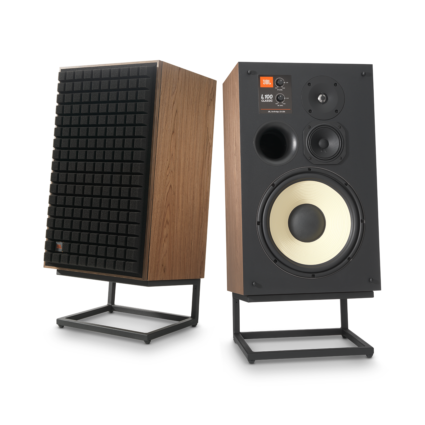 "L100 Classic - Black - 12"" (300mm) 3-way Bookshelf Loudspeaker - Hero"