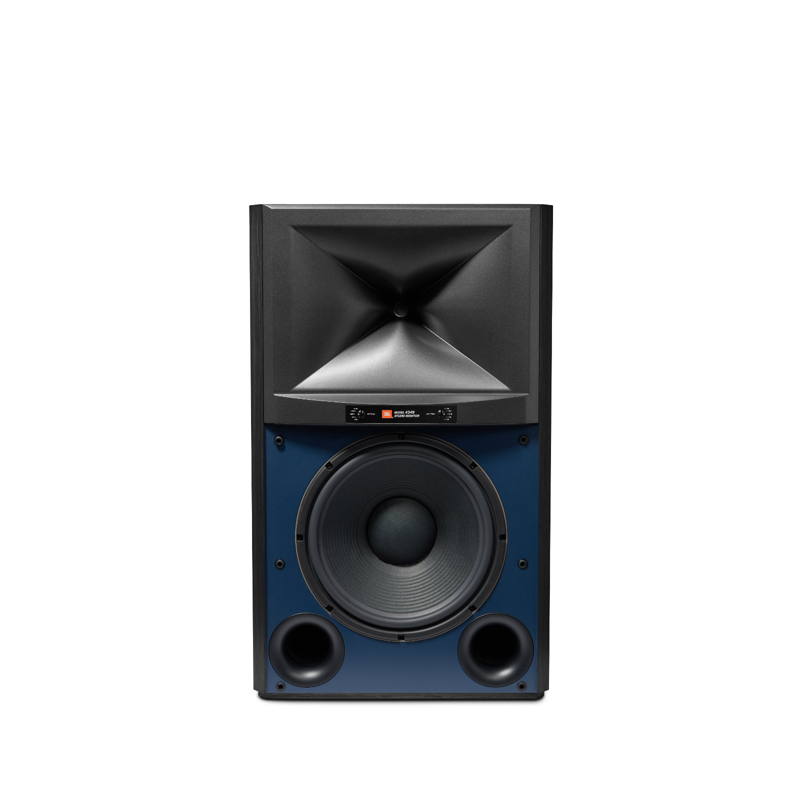 4349 - Black - 12-inch (300mm) 2-way Studio Monitor Loudspeaker - Hero