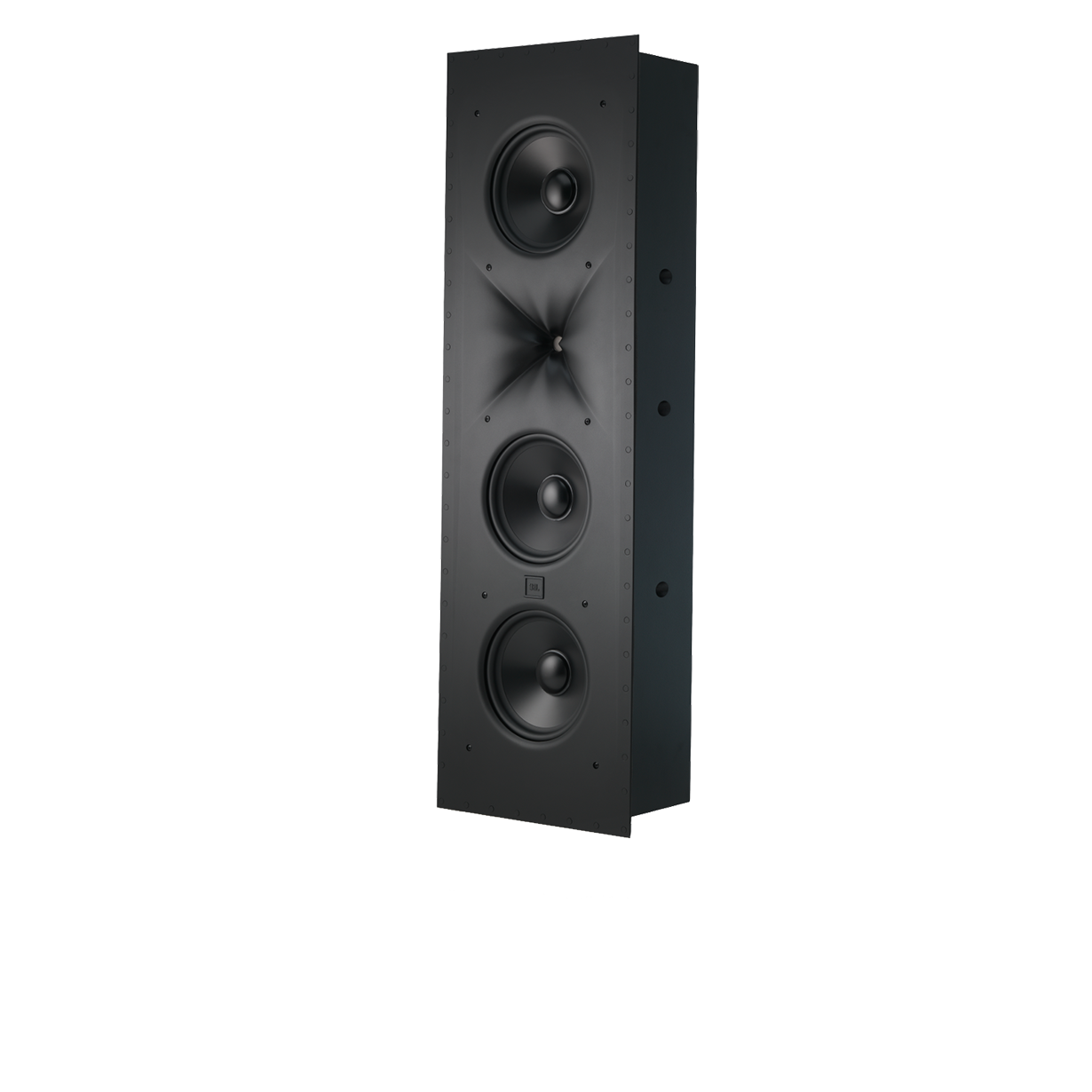 SCL-2 - Black - 2.5-Way Triple 8-inch (200mm) In-wall Loudspeaker - Hero