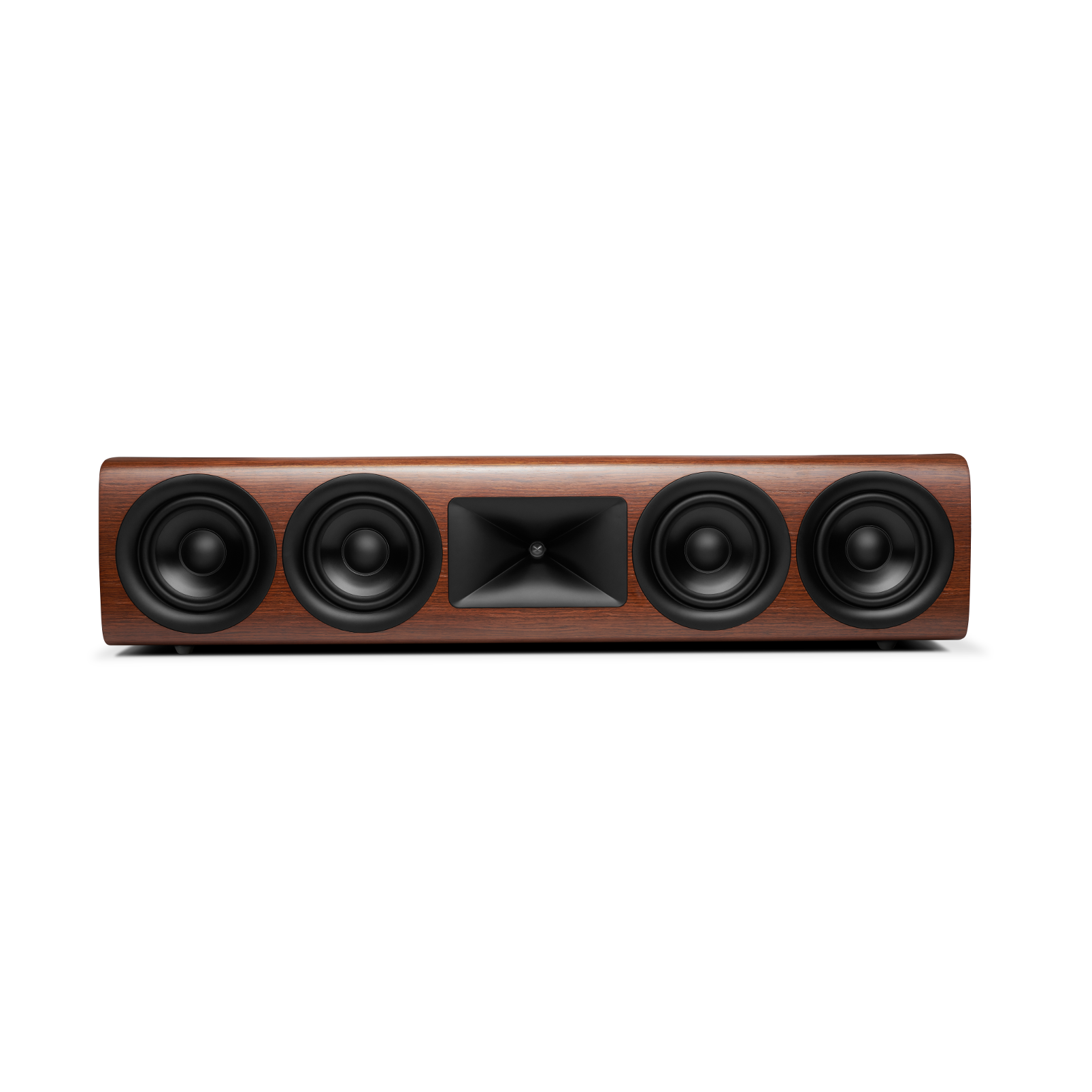 HDI-4500 - Walnut - 2 ½-way Quadruple 5.25-inch (130mm) Center Channel Loudspeaker - Hero