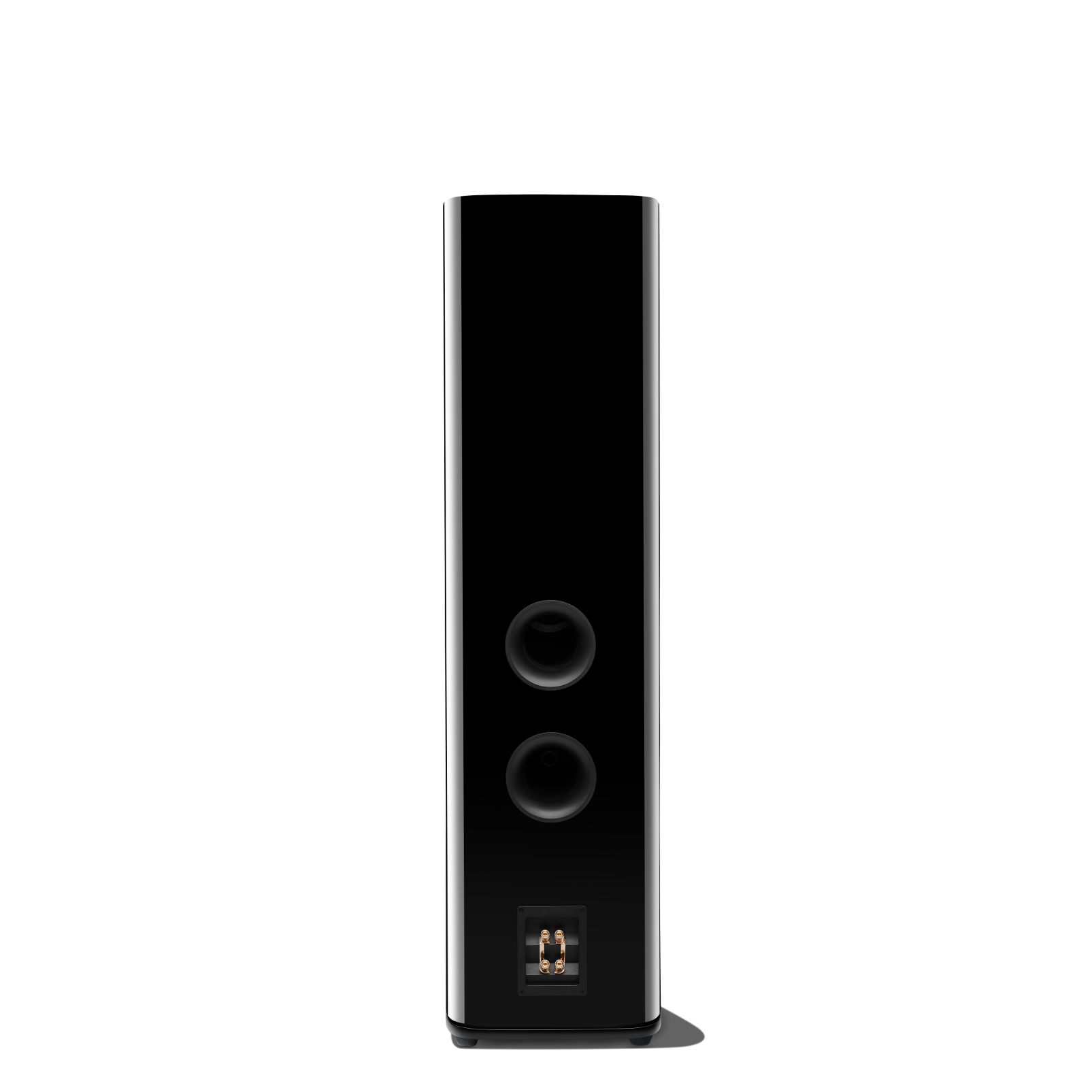 HDI-3800 - Black Gloss - 2 ½-way Triple 8-inch (200mm) Floorstanding Loudspeaker - Back