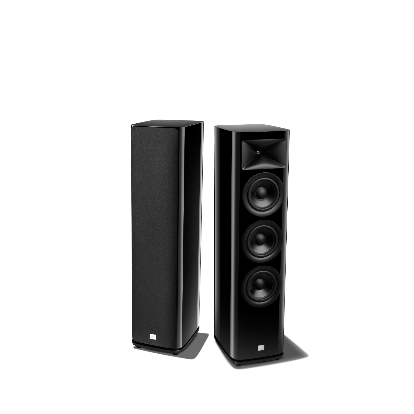 HDI-3600 - Black Gloss - 2 ½-way Triple 6.5-inch (165mm) Floorstanding Loudspeaker - Detailshot 1