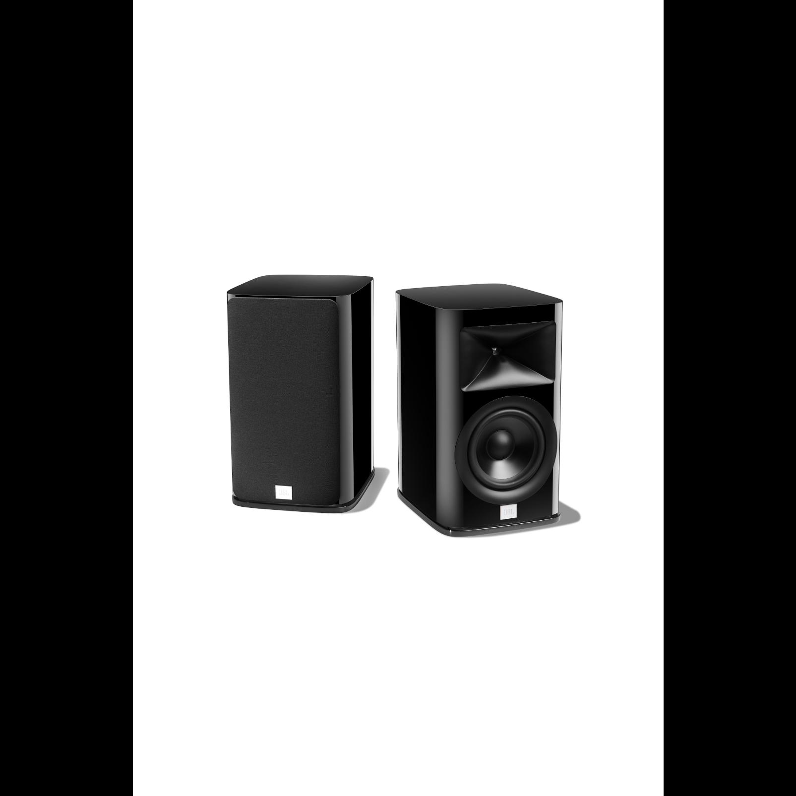 HDI-1600 - Black Gloss - 2-way 6.5-inch (165mm) Bookshelf Loudspeaker - Detailshot 4