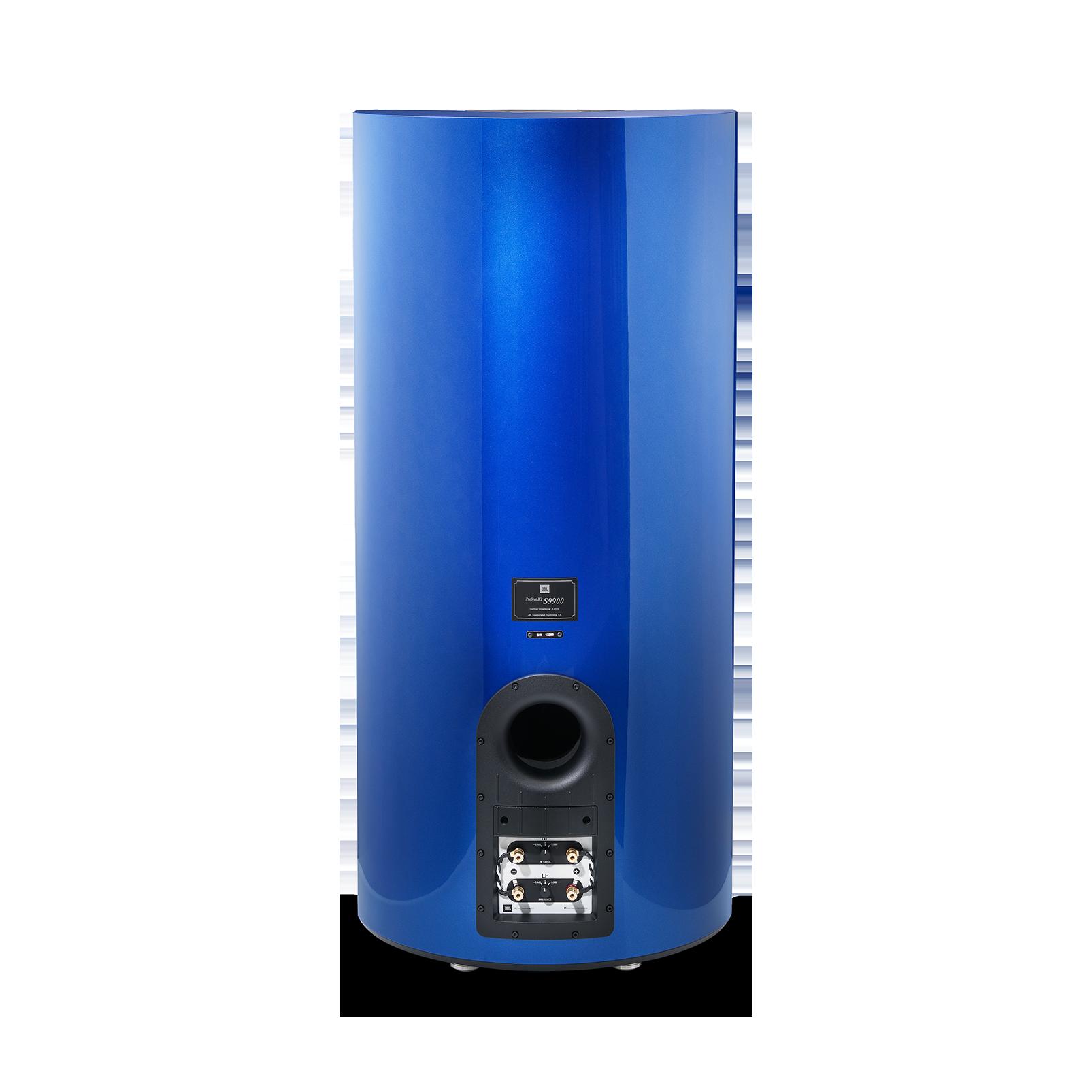 "K2 S9900 - Sapphire Blue Metallic - 3-way 15"" (380mm) Floorstanding Loudspeaker - Back"