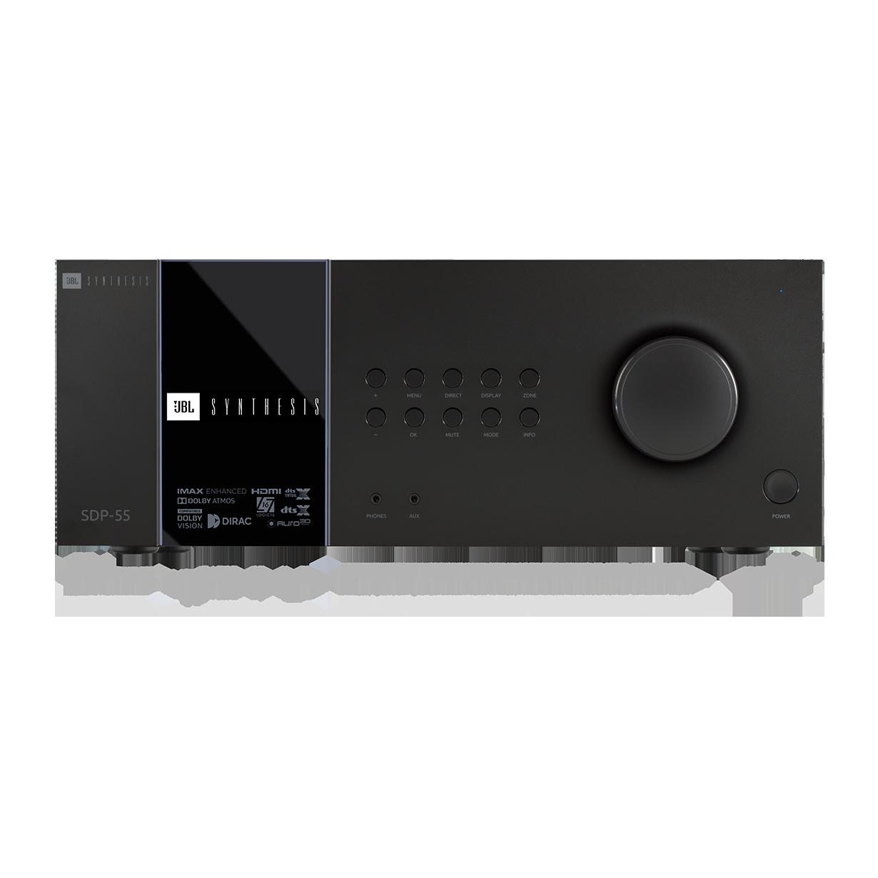 SDP-55 - Black - 16 Ch. Immersive Surround Sound Processor with Dante - Hero