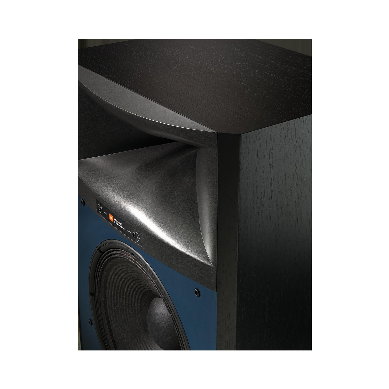 "4367 - Black - 2-way 15"" (380mm) Floorstanding Studio Monitor Loudspeaker - Detailshot 3"
