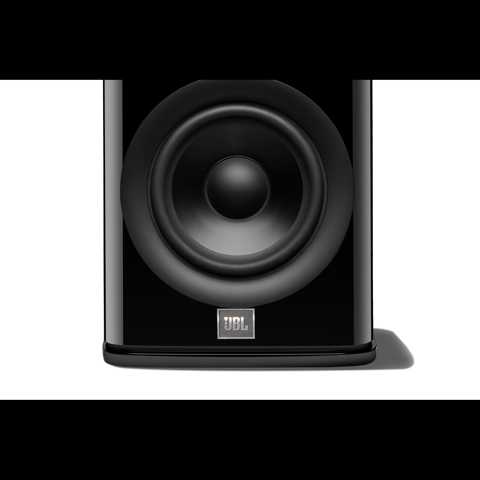HDI-1600 - Black Gloss - 2-way 6.5-inch (165mm) Bookshelf Loudspeaker - Detailshot 1