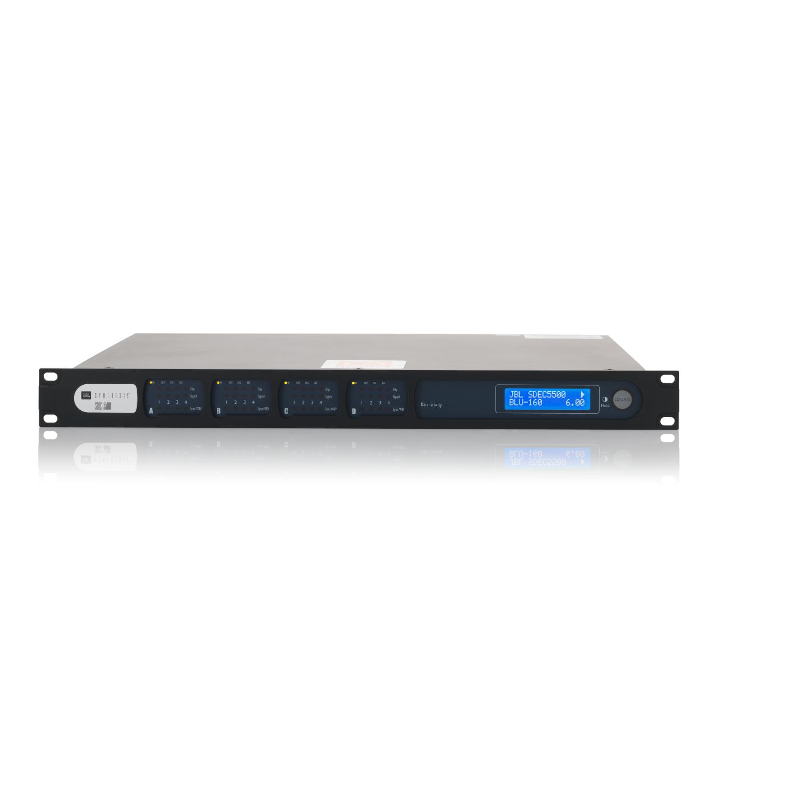SDEC-5500 - Black Lacquer - 16-channel Fully-balanced Digital Equalizer - Front