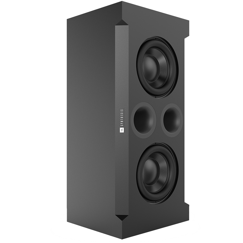 SSW-1 - Black - Dual 15-inch (380mm) Passive Subwoofer - Hero
