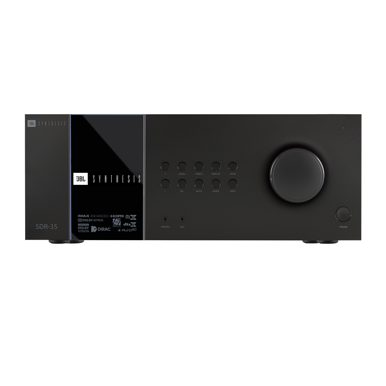 SDR-35 - Black - Class G Immersive Surround Sound AVR w/16 channels of processing - Hero