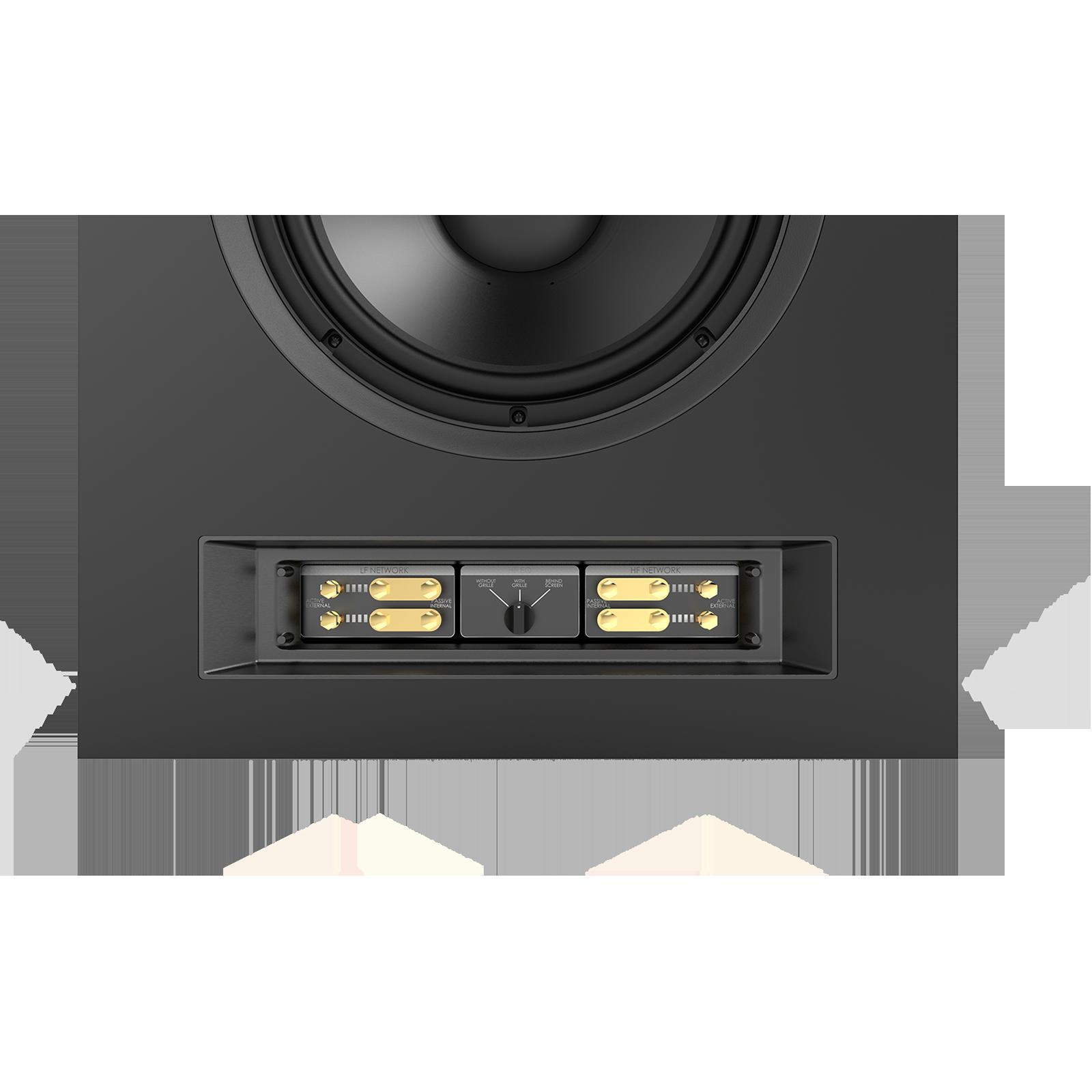 SCL-1 - Black - 2-Way Dual 12-inch (300mm) Custom LCR Loudspeaker - Detailshot 4