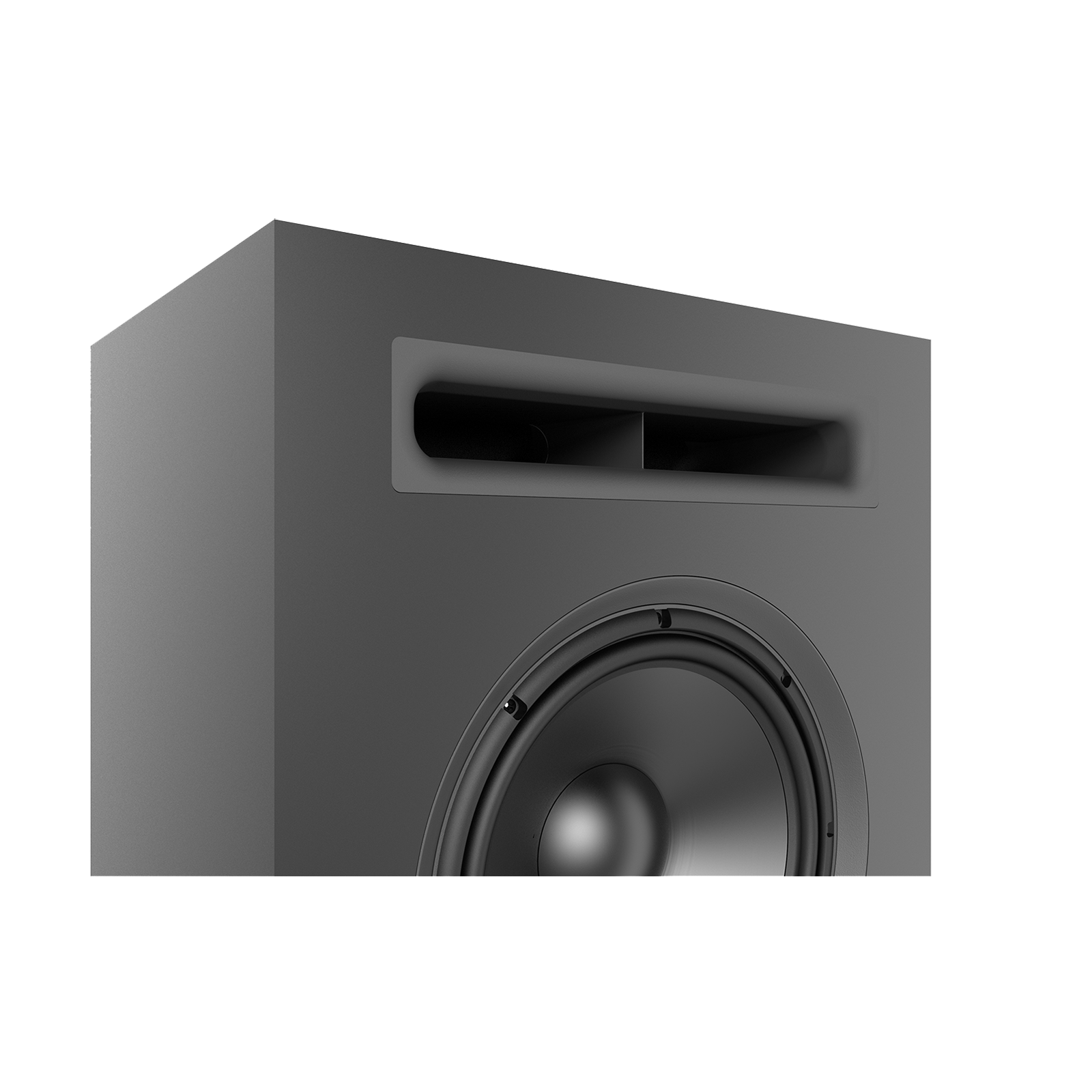 SCL-1 - Black - 2-Way Dual 12-inch (300mm) Custom LCR Loudspeaker - Detailshot 7