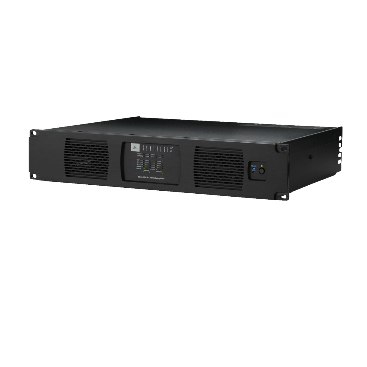 SDA 4600 - Black - Multichannel Power Amplifier - Hero