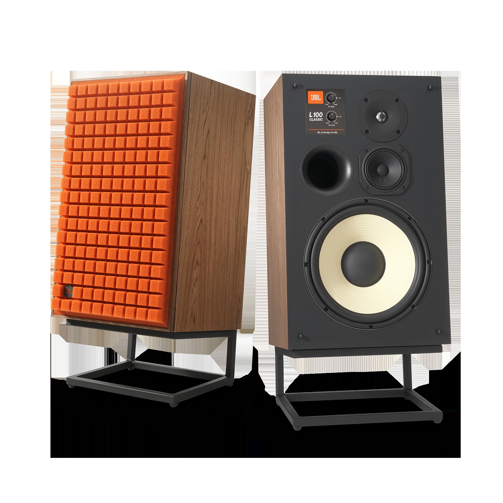 "L100 Classic - Orange - 12"" (300mm) 3-way Bookshelf Loudspeaker - Detailshot 2"