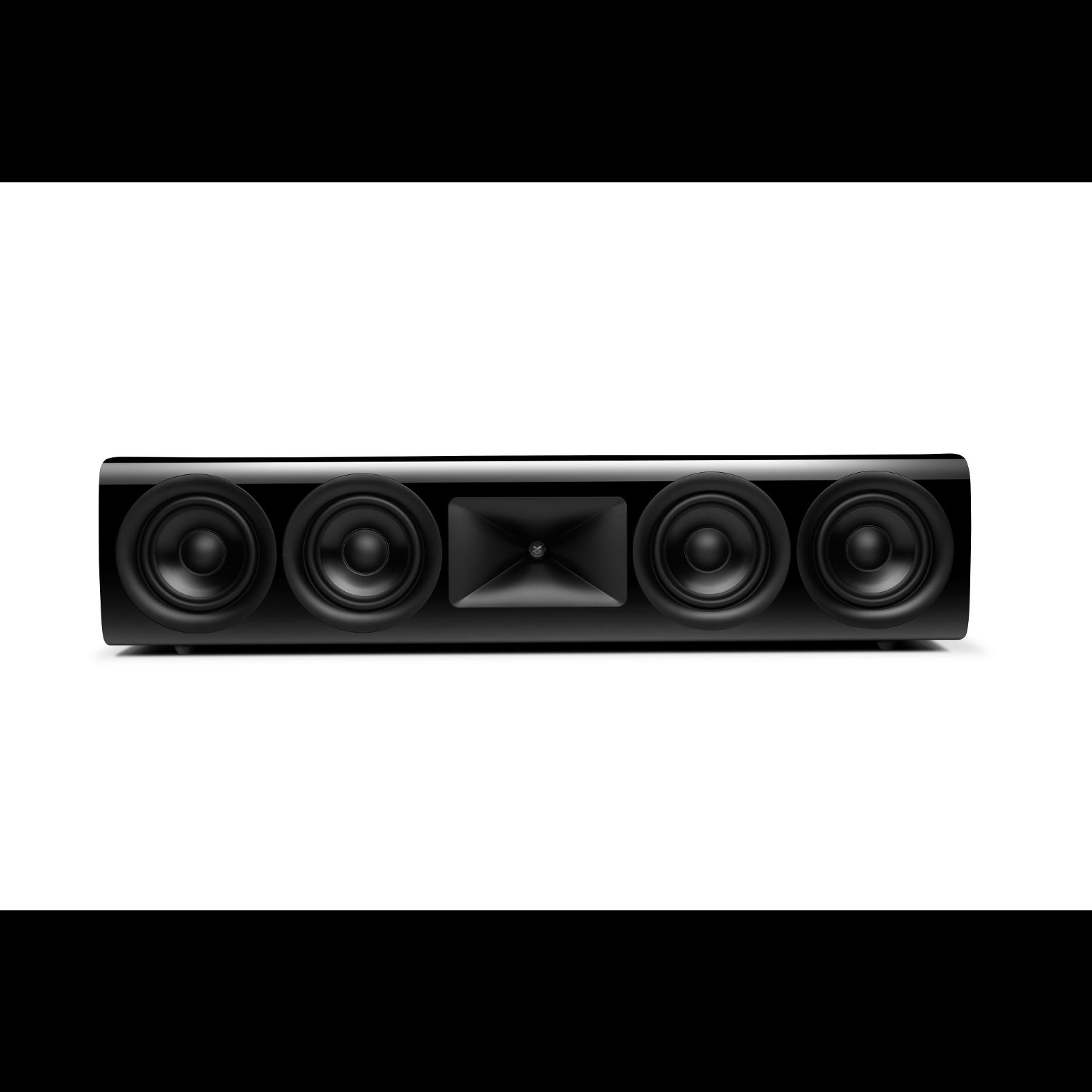 HDI-4500 - Black Gloss - 2 ½-way Quadruple 5.25-inch (130mm) Center Channel Loudspeaker - Hero